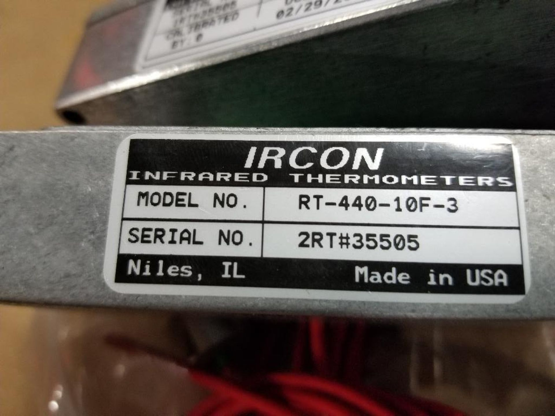 Qty 2 - IRCON minIRT miniature infrared thermometer. RT-440-10F-3. - Image 4 of 4
