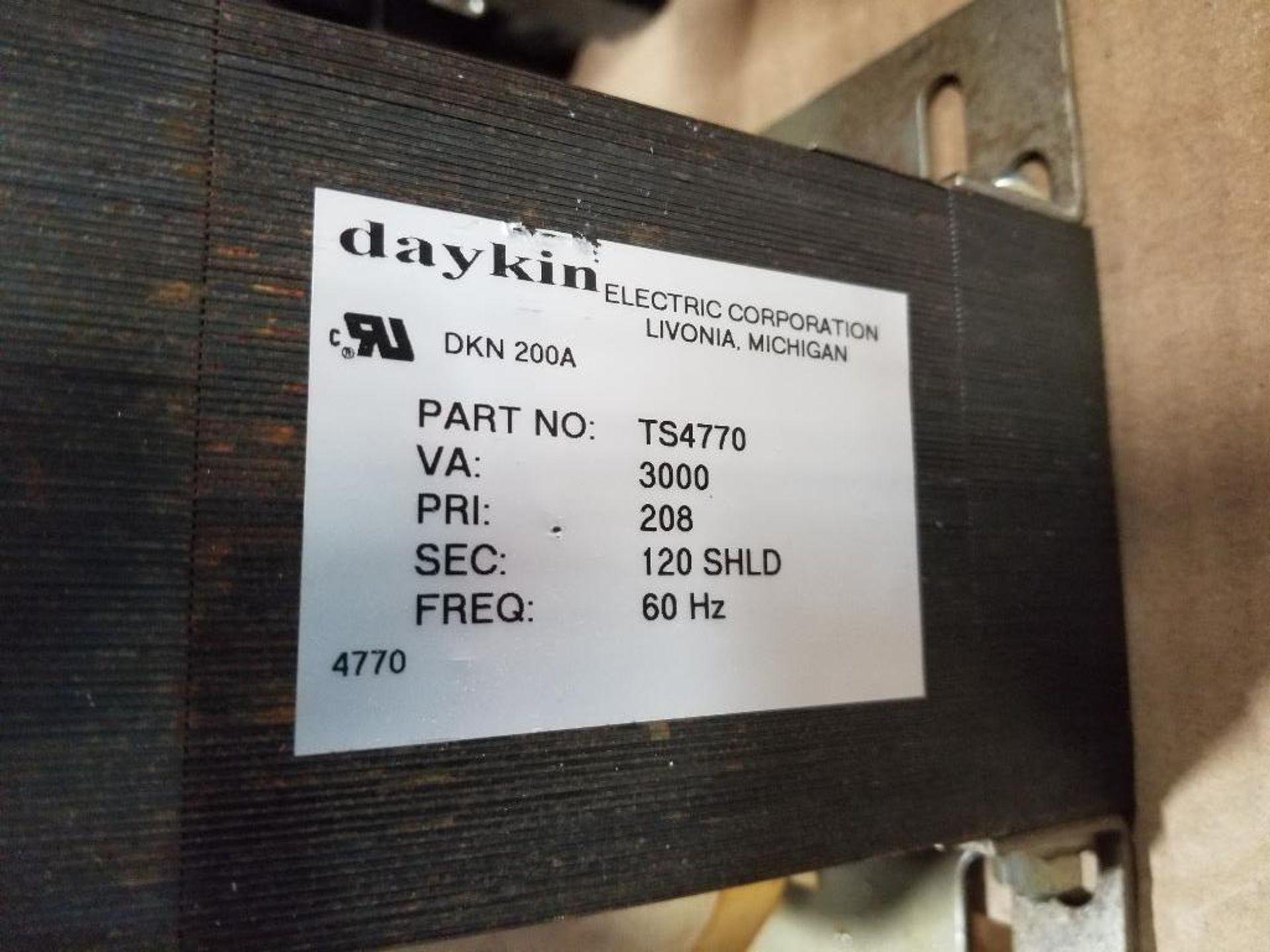 Daykin OMDGTC-15 208V Transformer. - Image 7 of 7