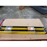 SICK Light curtain transmitter / receiver set. 14-FGS 1-012-762, 1-012-761.