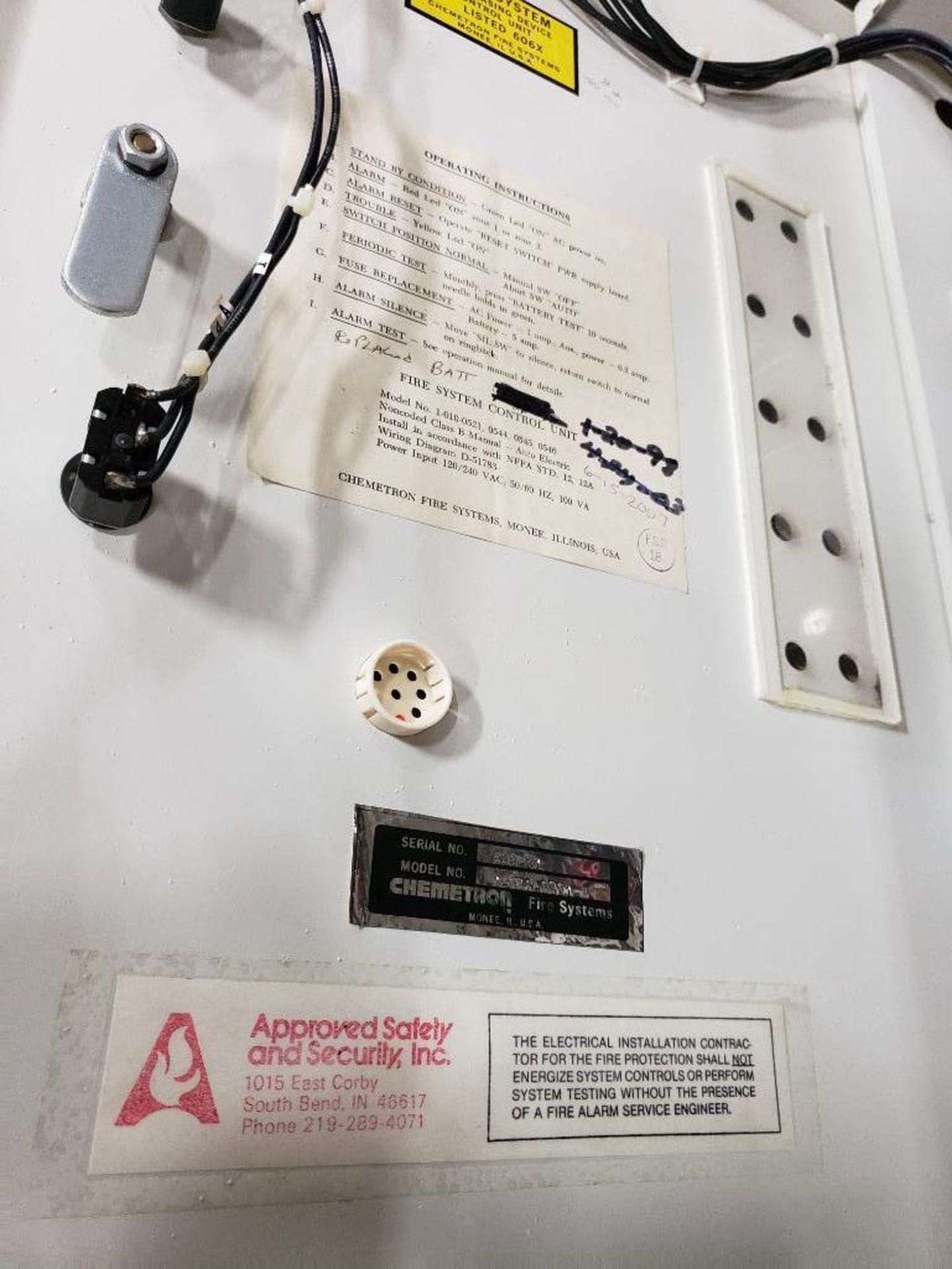 Chemetron Fire System control unit 1-010-0521-3. - Image 13 of 14