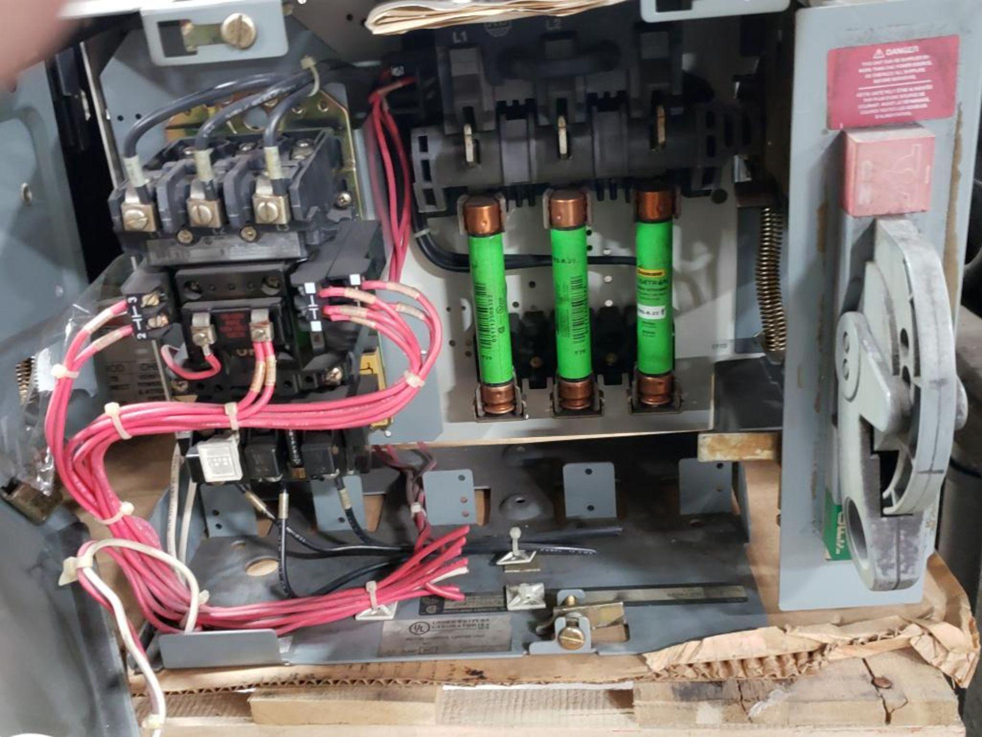 Qty 3 - Allen Bradley Motor Control bucket. 211A-B080-48-24R-41-98. - Image 3 of 6