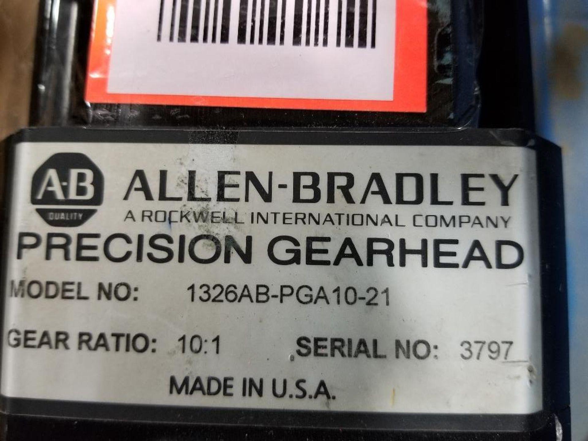 Allen Bradley 1326AB-PGA10-21 Precision Gearhead. 10:1-Raito, Made in USA. - Image 2 of 4