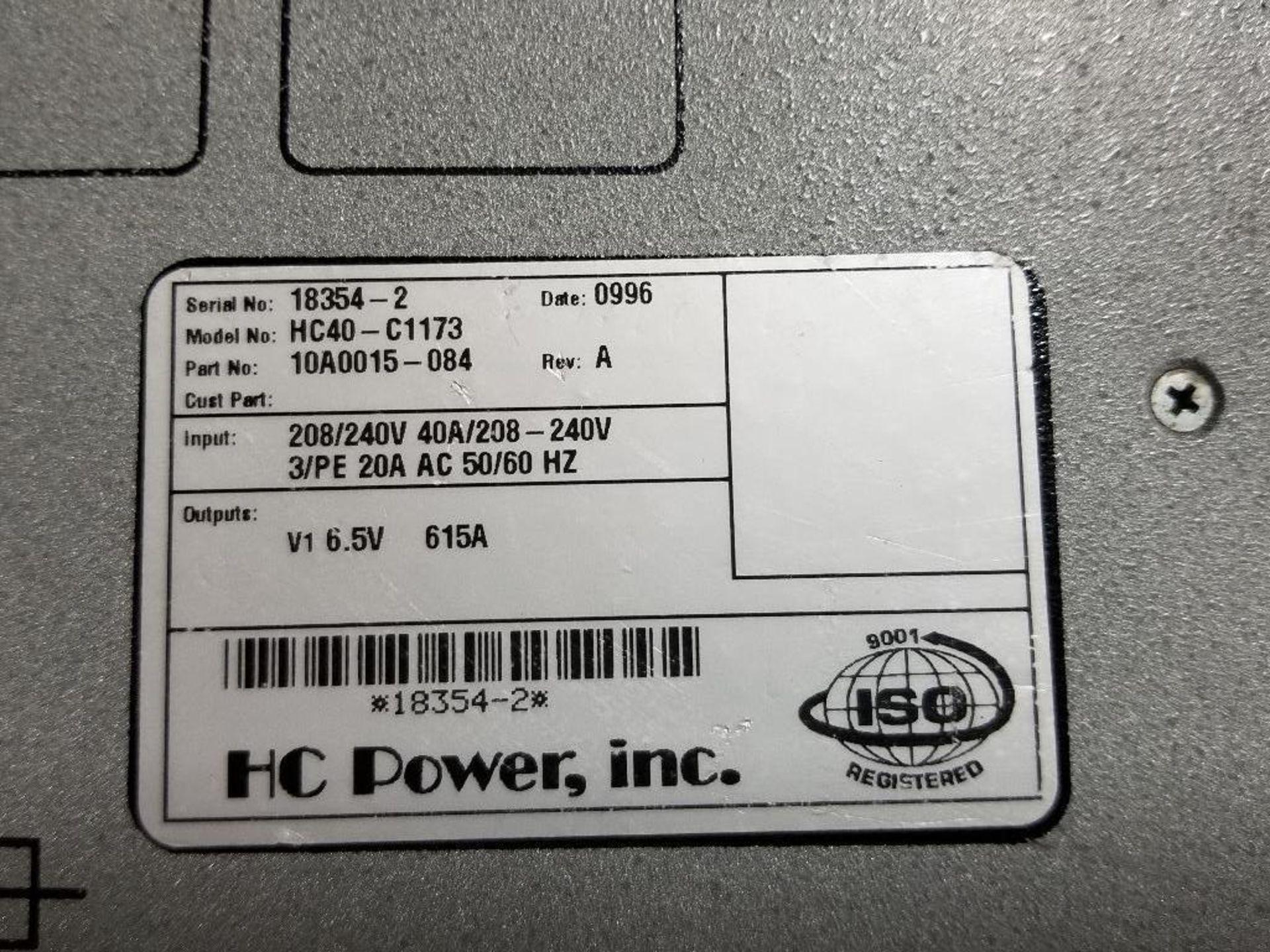 HC Power, INC HC40-C1173 Power Supply Module. - Image 2 of 6