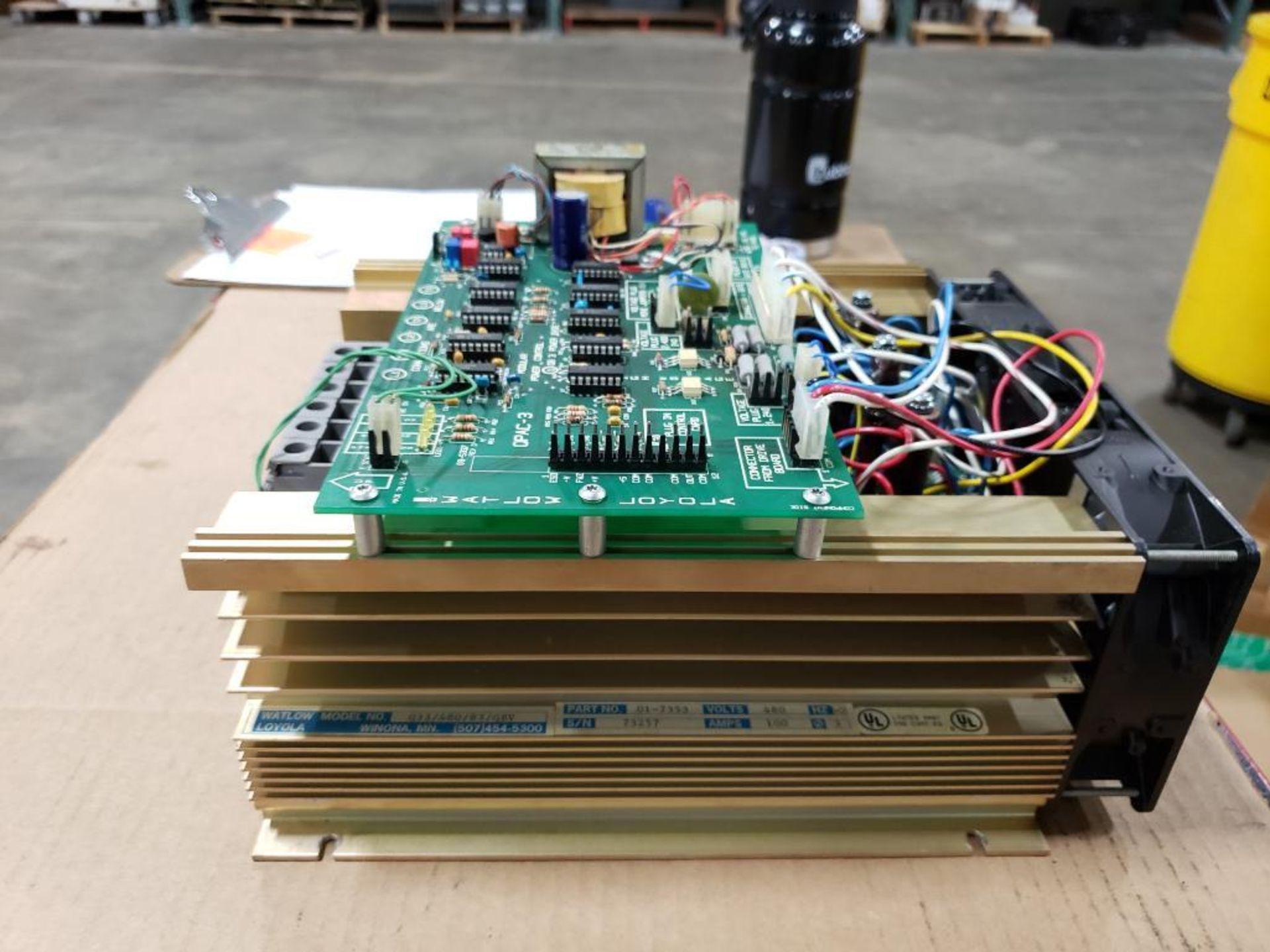 Watlow Q33/480/83/QBV 01-7353 480V power supply module. - Image 3 of 14