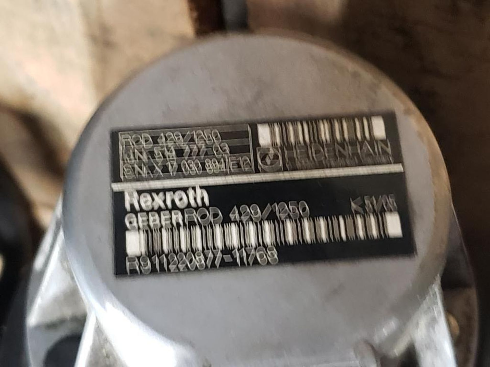 Rexroth GEBERROD 420/1250 Servo motor. Heidenhain 514.777-03 Encoder. - Image 4 of 4