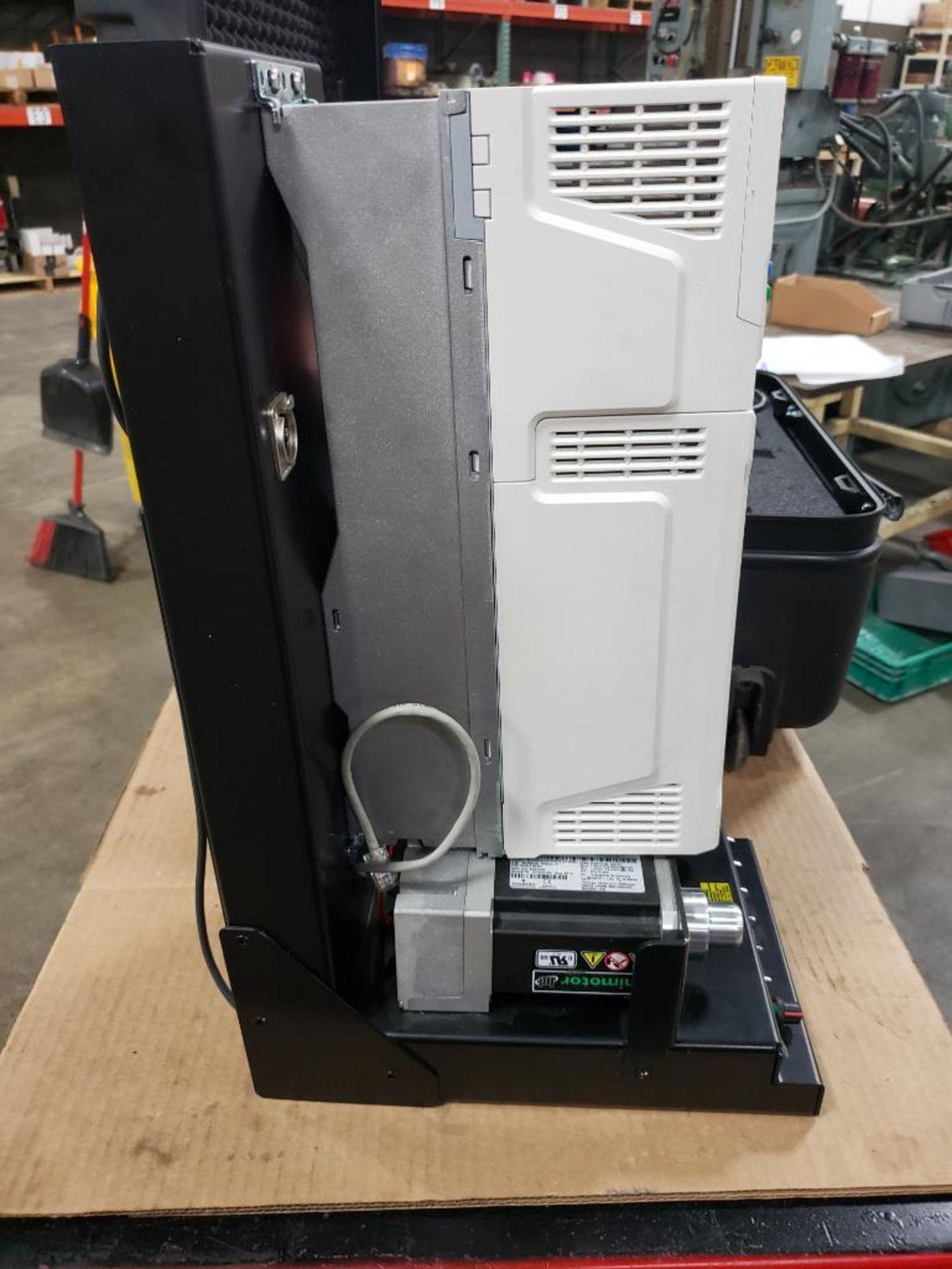 Travel test diagnostic Emerson drive unit. Emerson control Techniques DCM700. Unidrive M701. - Image 14 of 21