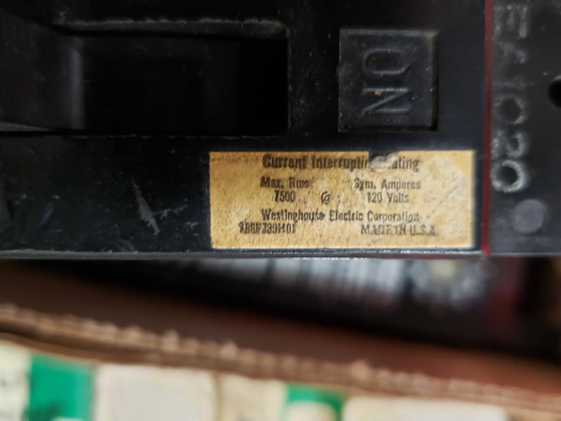 Assorted electrical breakers. Siemens, Westinghouse. - Image 7 of 8