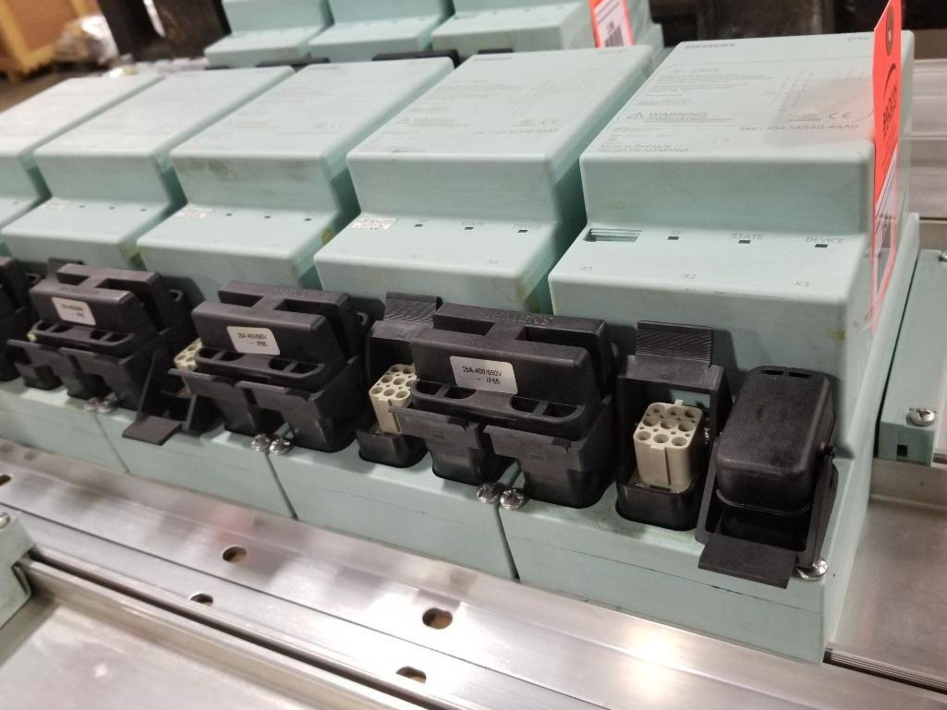 Siemens RSe-ST Reversing starter, DSe-ST Disconnect module flow control line. - Image 9 of 9