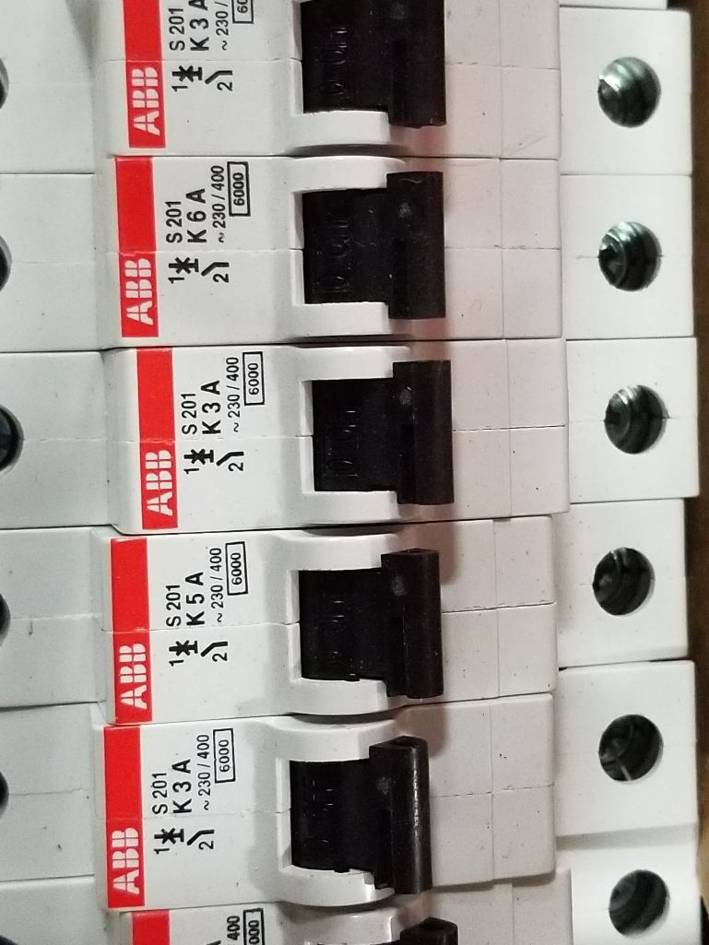 Assorted electrical fuse holder and circuit breaker. Allen Bradley, ABB, Phoenix Contact. - Image 3 of 7