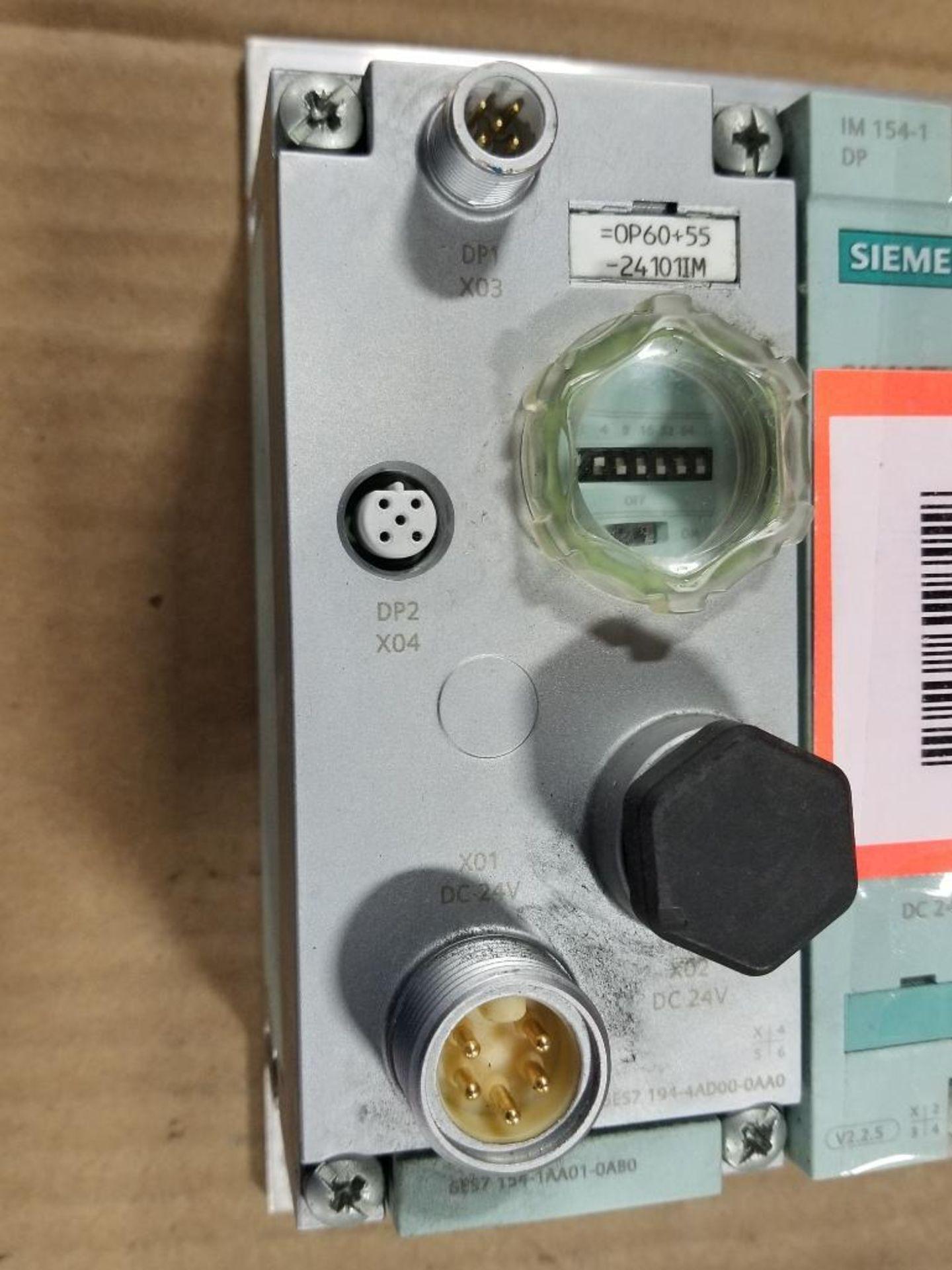 Siemens ET200-pro flow control line. 6ES7-154-1AA01-0AB0. - Image 4 of 4