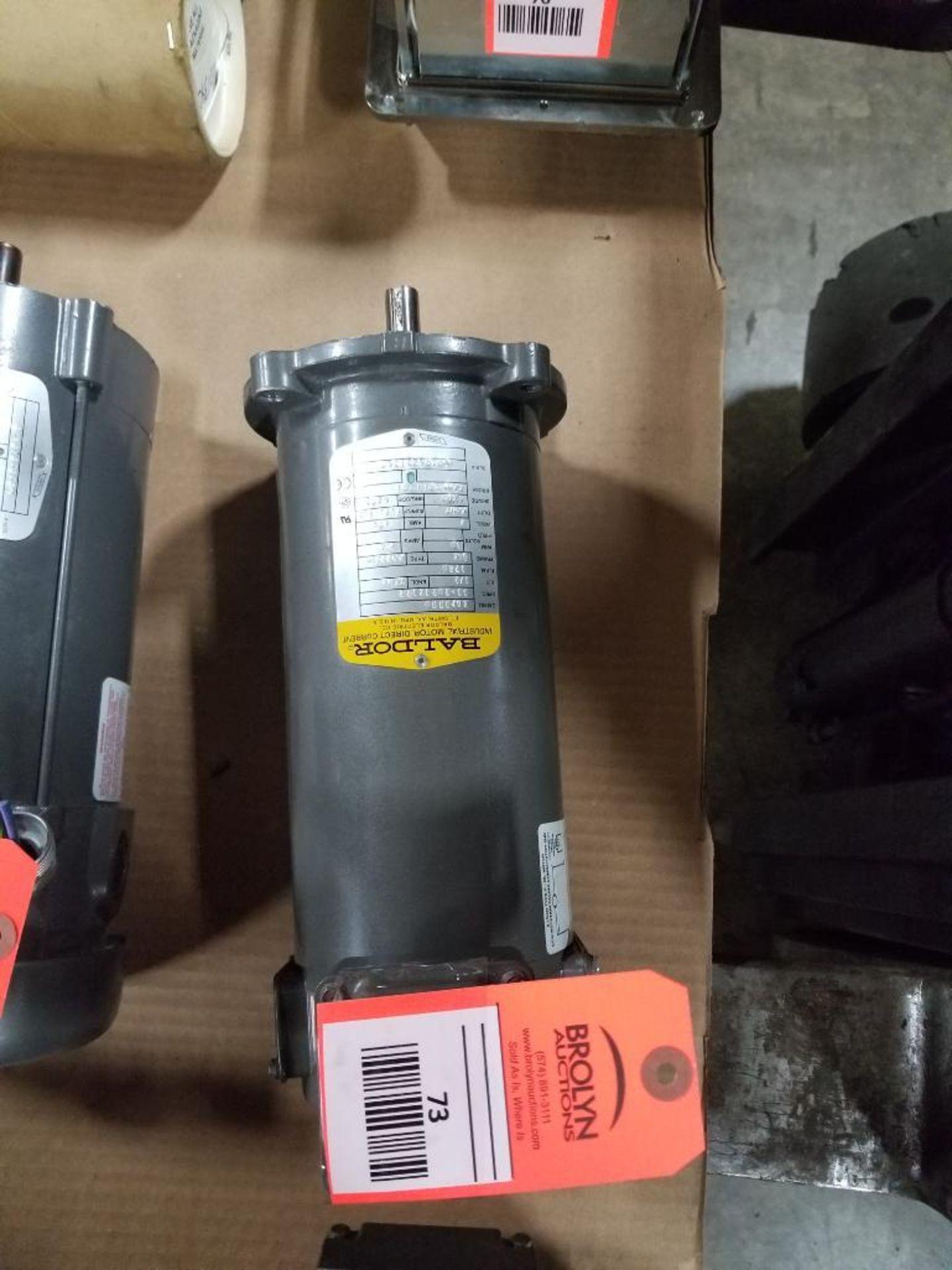 1/2HP Baldor industrial motor COP3330, 33-2024Z122. 1750RPM, 56C-Frame.