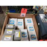 Assorted electrical capacitors. Supco, Titan Pro.