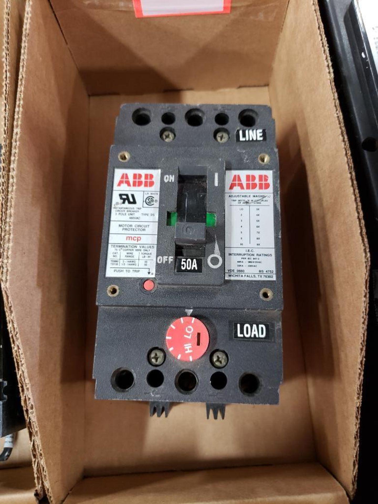 ABB MCP Motor circuit protector breaker. ME881614.