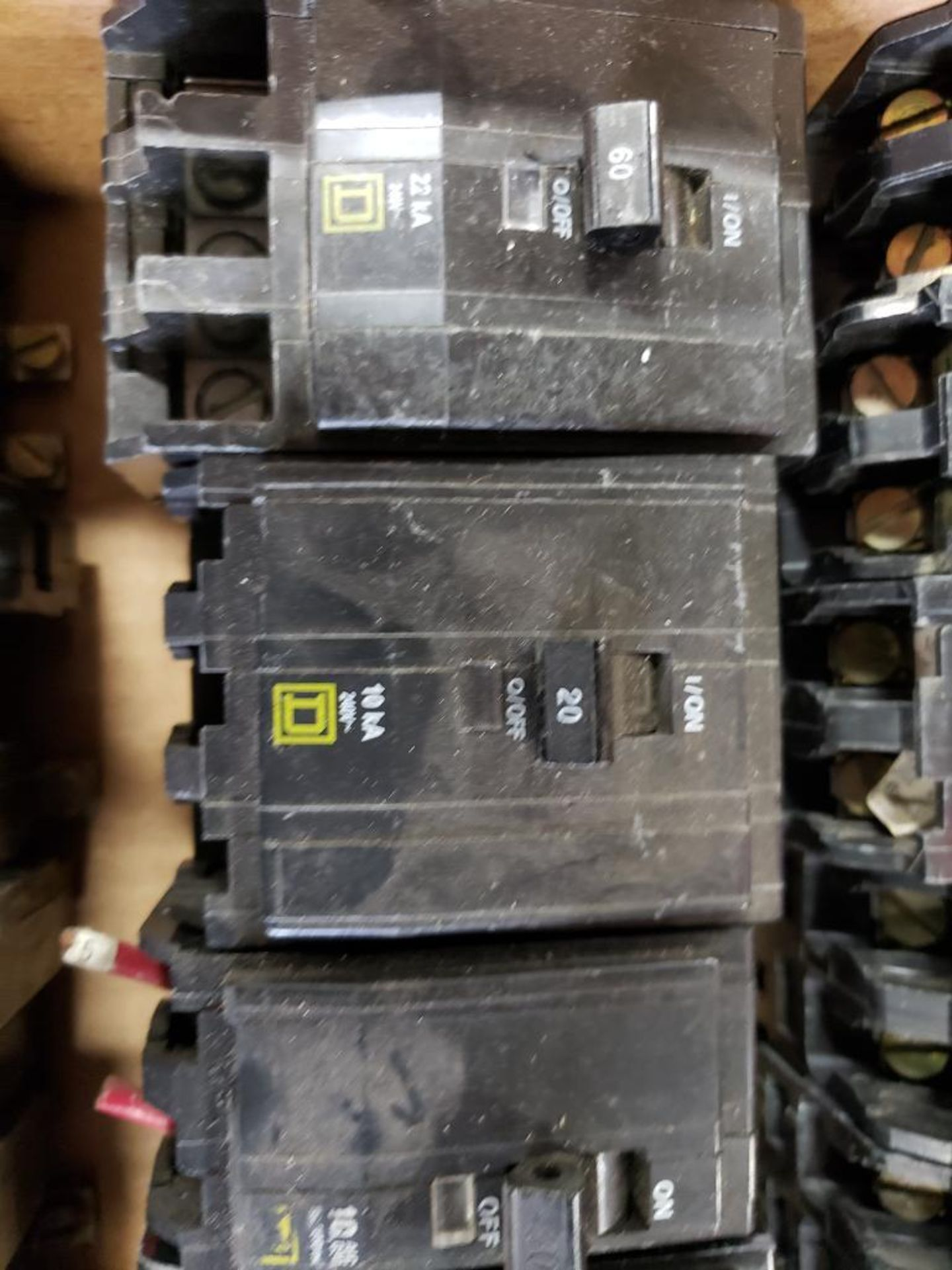 Assorted Square-D Breakers. - Image 5 of 9