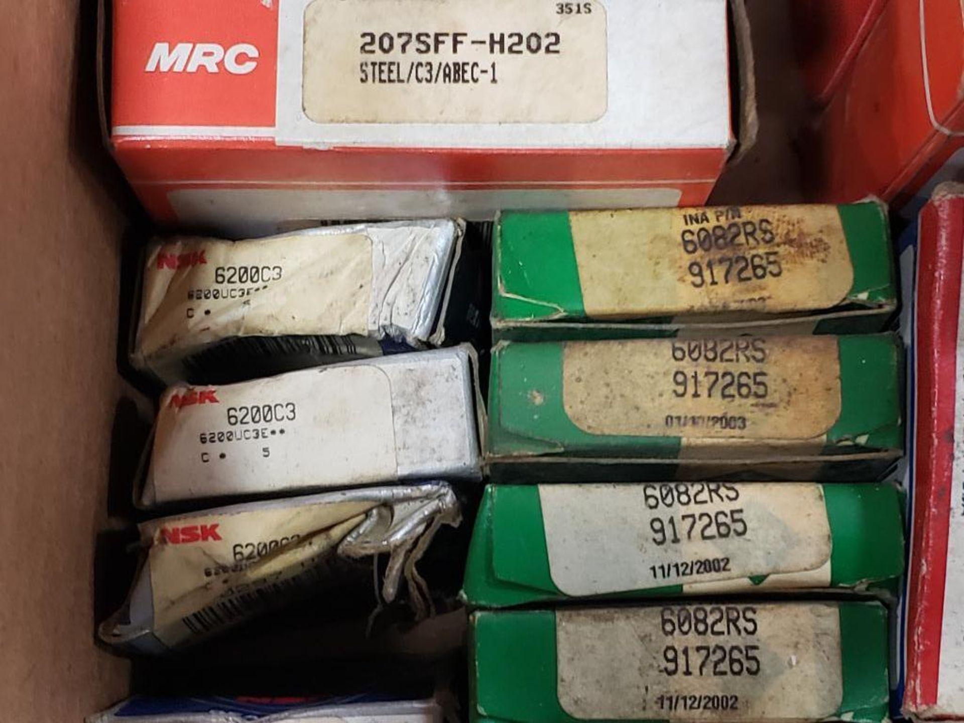 Assorted bearings. NSK, Fafnir, SKF, MRC. - Image 5 of 8