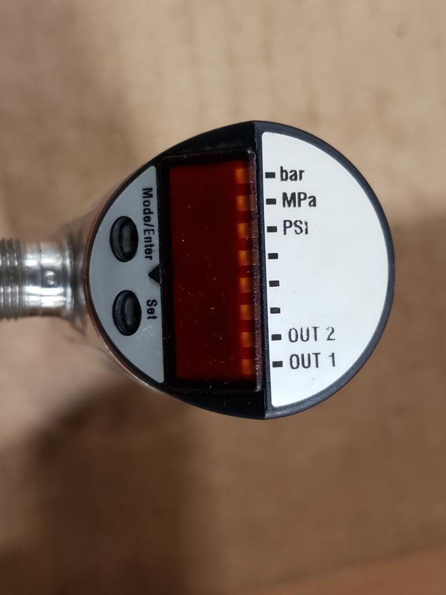 Qty 2 - IFM PN7004 Pressure switch sensor. - Image 6 of 6