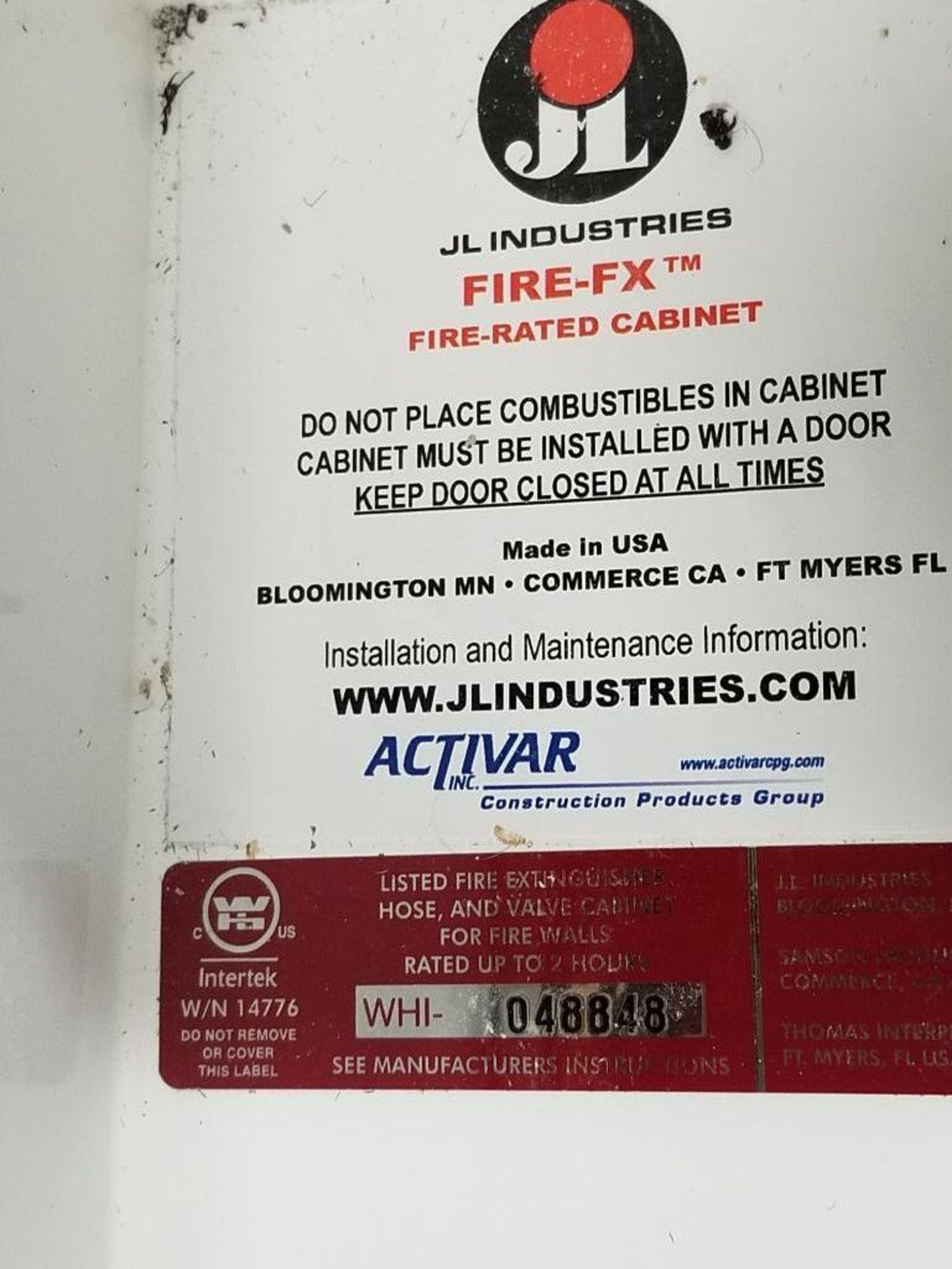JL Industries C1037V10FX Metal extinguisher cabinet. - Image 4 of 5