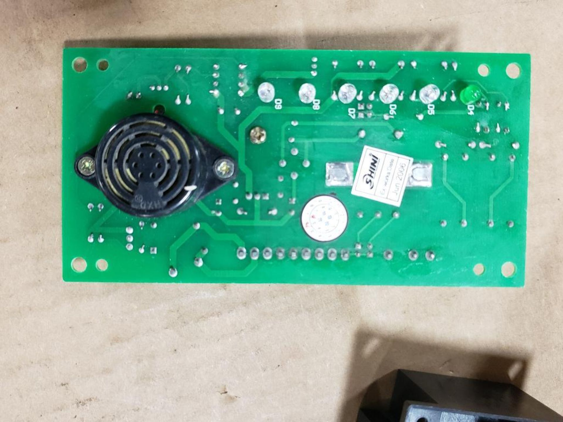 Qty 3 - Shini Si4T-1A control board. - Image 5 of 11
