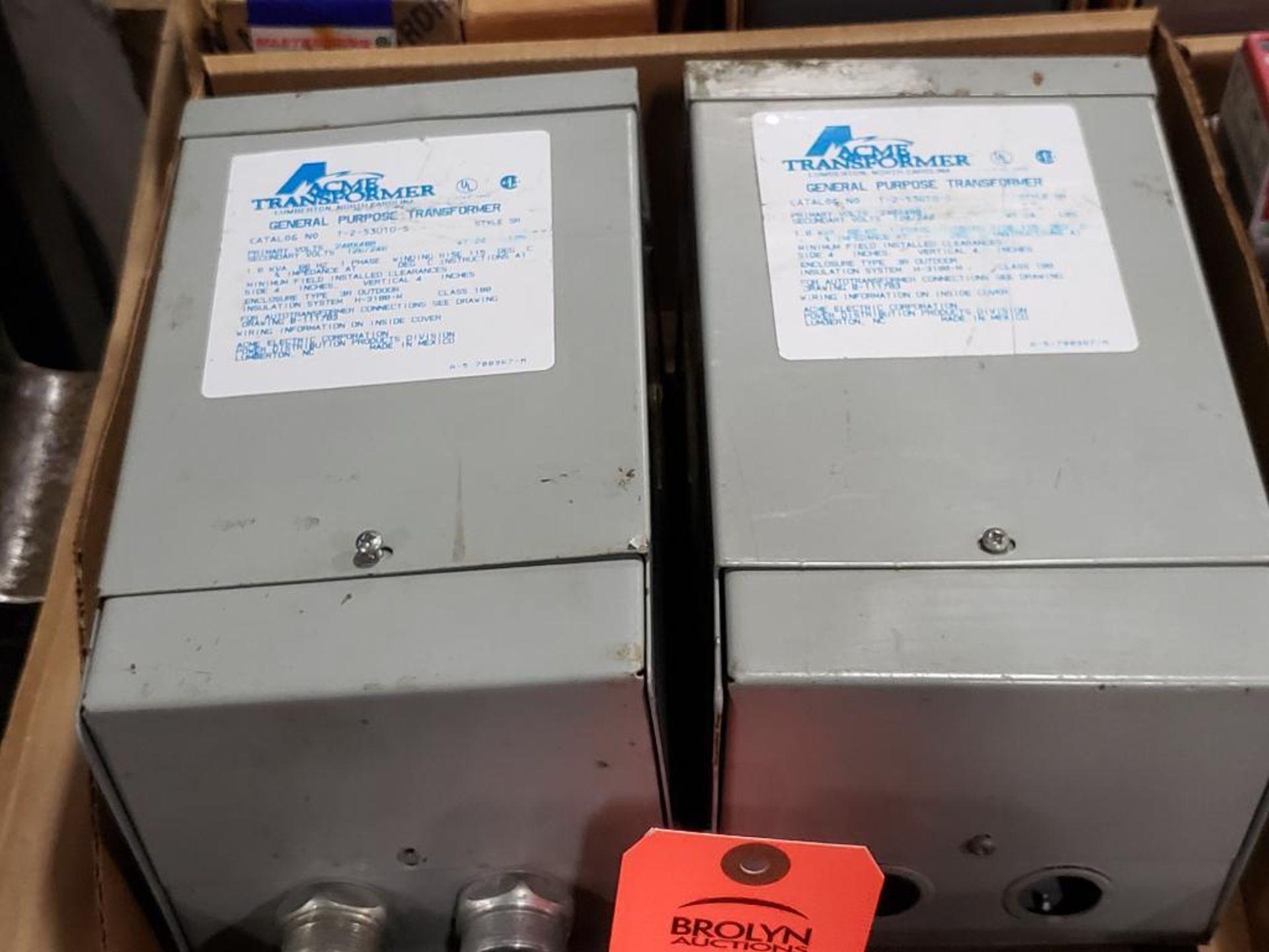 Qty 2 - ACME Transformer T-2-53010-S General purpose transformer.
