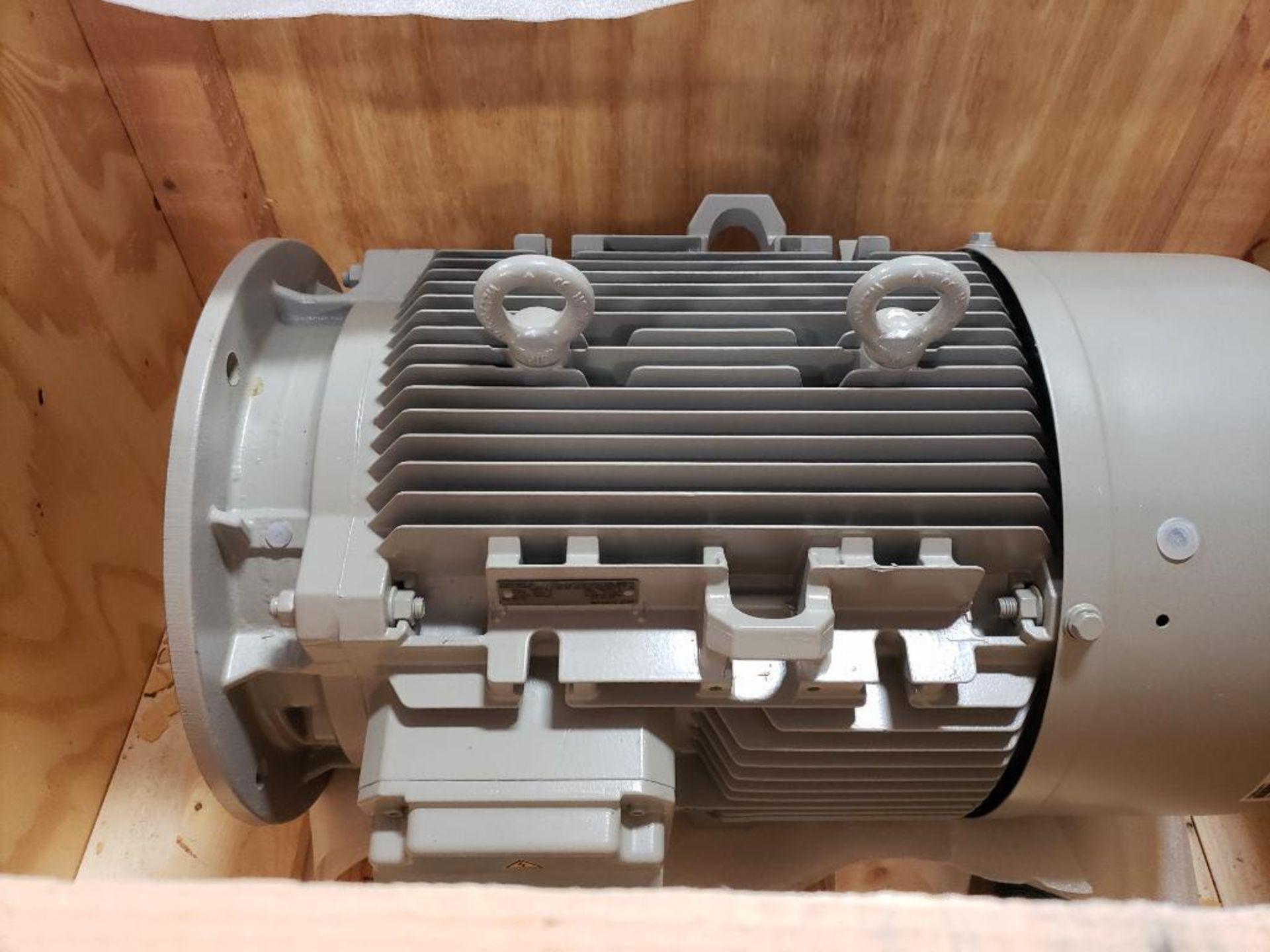 45kW Siemens 3PH motor. 1LA92092AA91-ZT56. 200V, 2965RPM. - Image 2 of 9