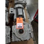 .75HP Sew-Eurodrive DFT80K4 motor. 230/400V, 1360RPM.