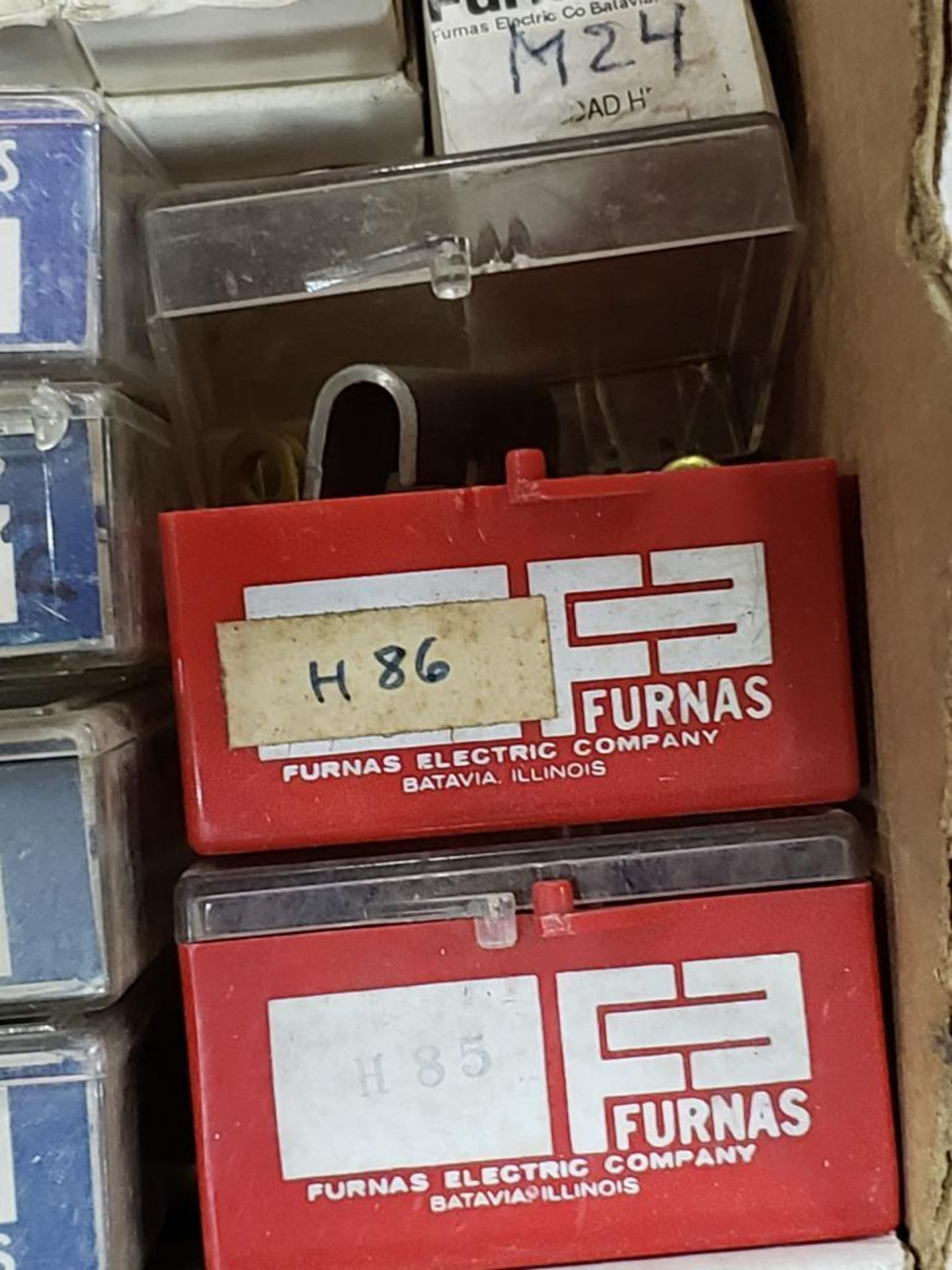 Assorted contactor heaters. Furnas. - Image 7 of 7