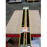 SICK Light curtain transmitter / receiver set. 14-FGS 1-012-767, 1-012-768.