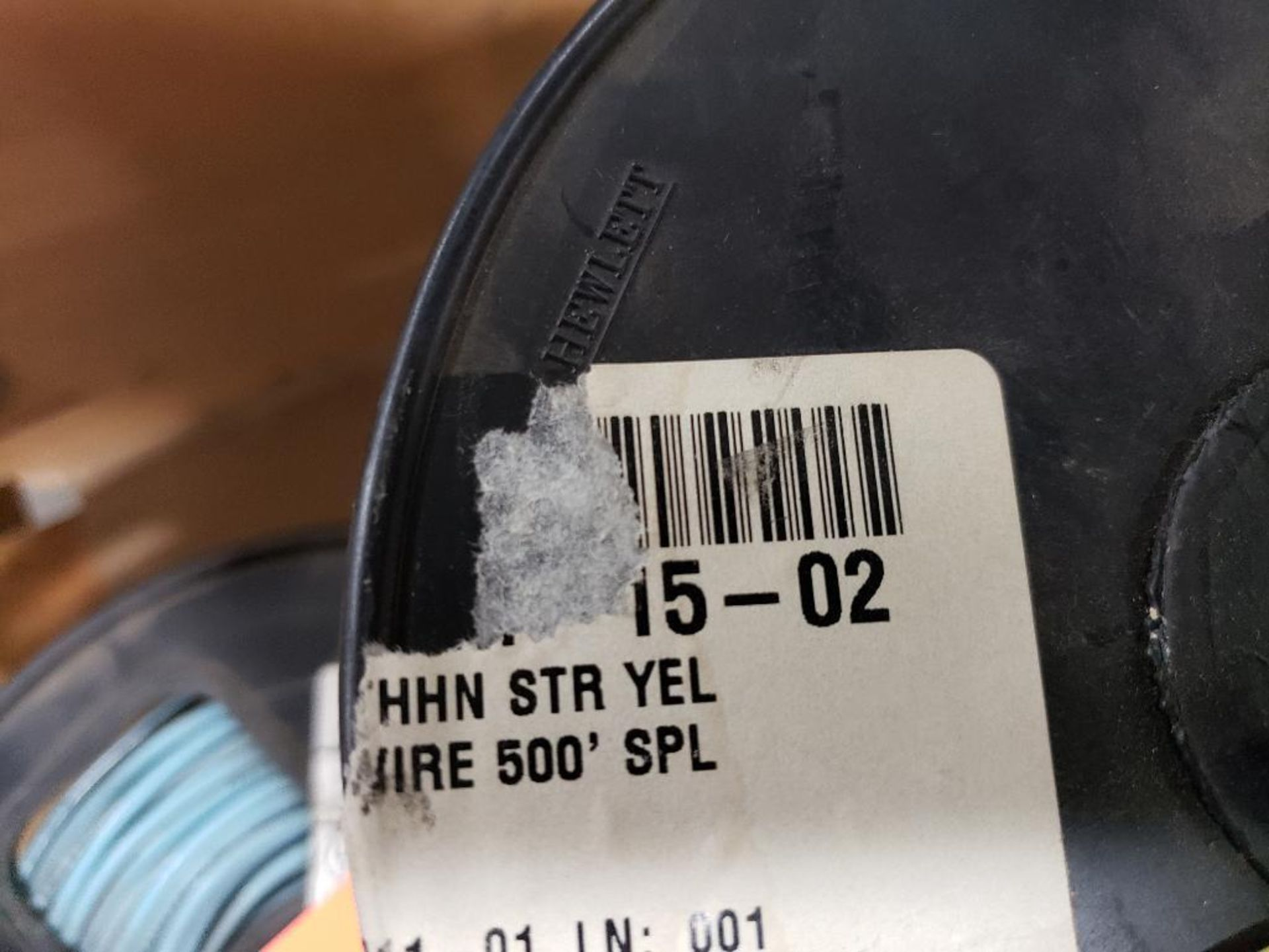 Qty 4 - Spool of contractor wire. 14-Yellow, 14-Blue. - Image 4 of 6