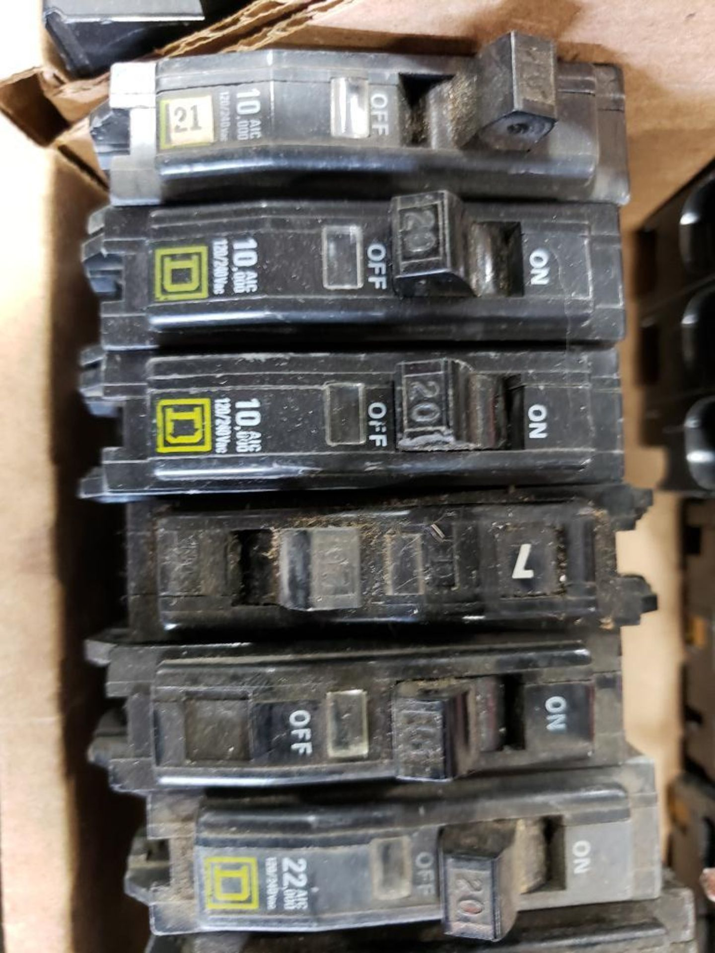 Assorted Square-D Breakers. - Image 6 of 9