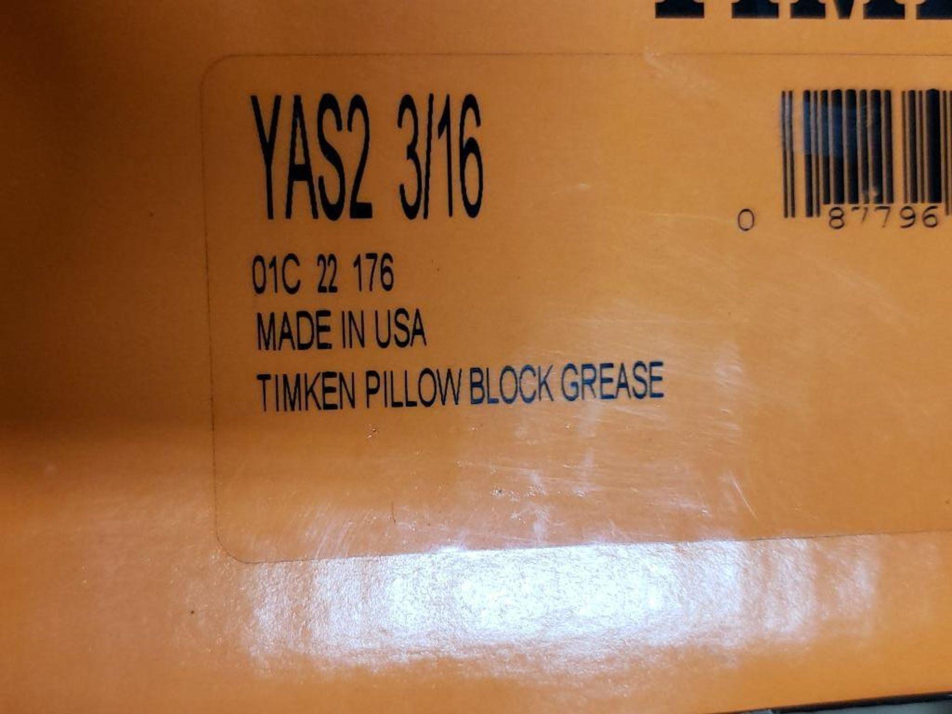 Qty 2 - Mounted bearings. Timken YAS2-3/16. - Image 2 of 3