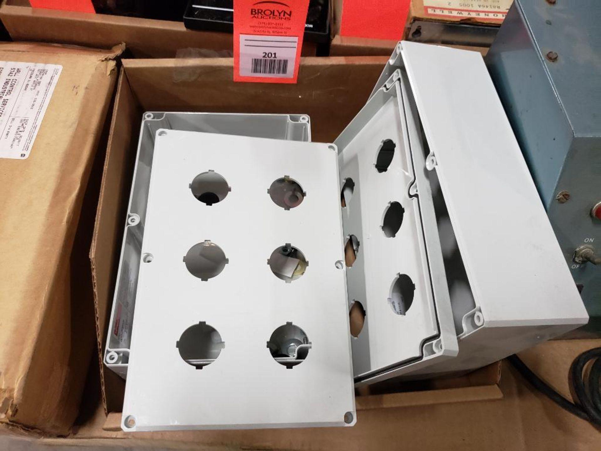 Qty 2 - Hoffman 6PBPCD Conduit box.
