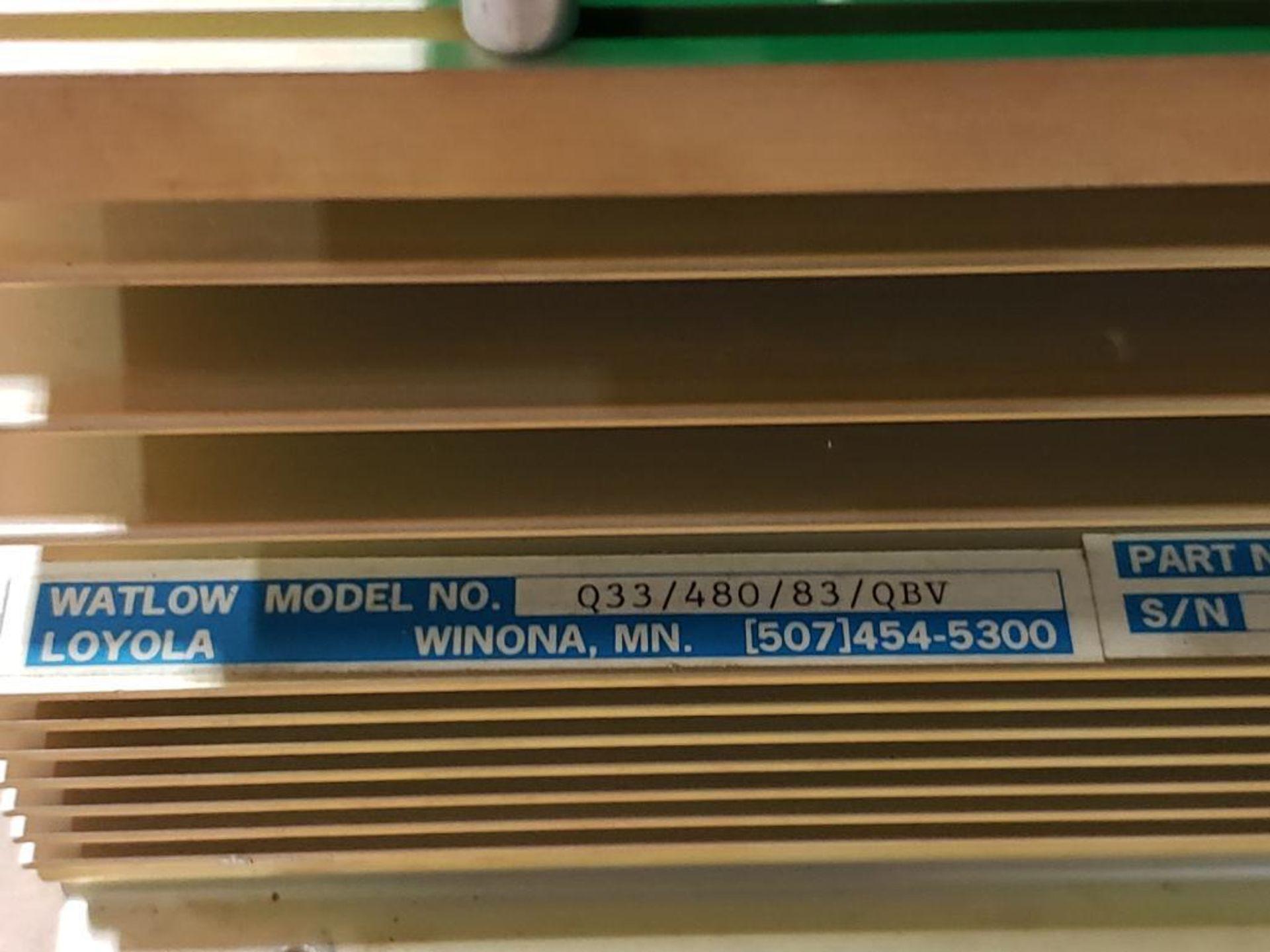 Watlow Q33/480/83/QBV 01-7353 480V power supply module. - Image 4 of 14
