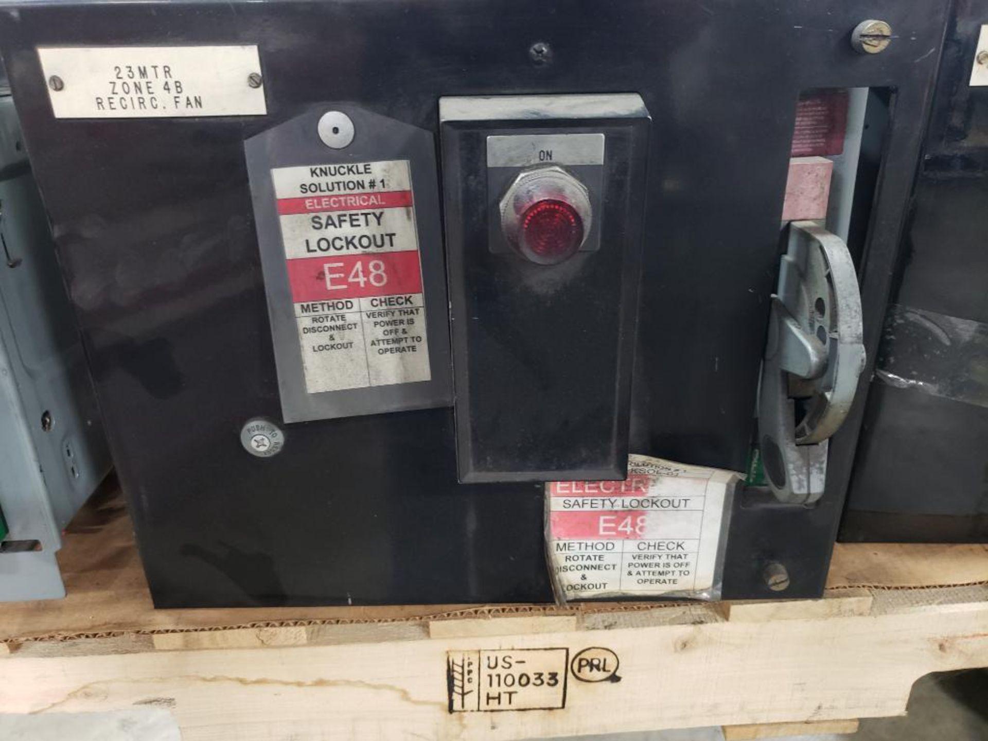 Qty 3 - Allen Bradley Motor Control bucket. 211A-B080-48-24R-41-98. - Image 2 of 8