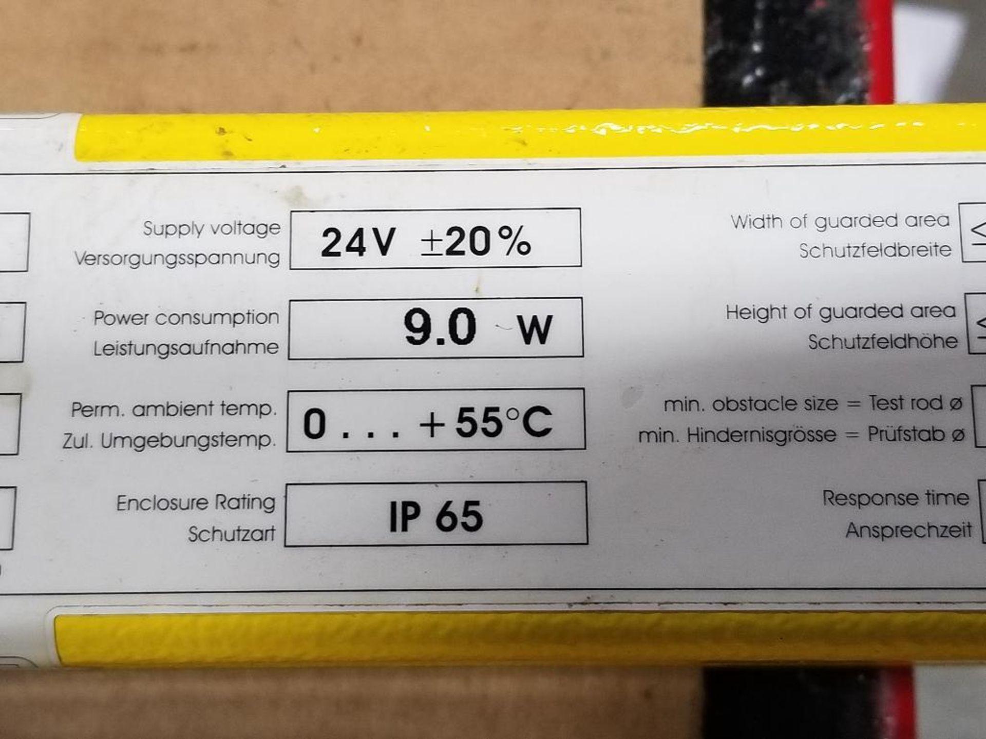SICK Light curtain transmitter / receiver set. 14-FGS 1-012-767, 1-012-768. - Image 10 of 11