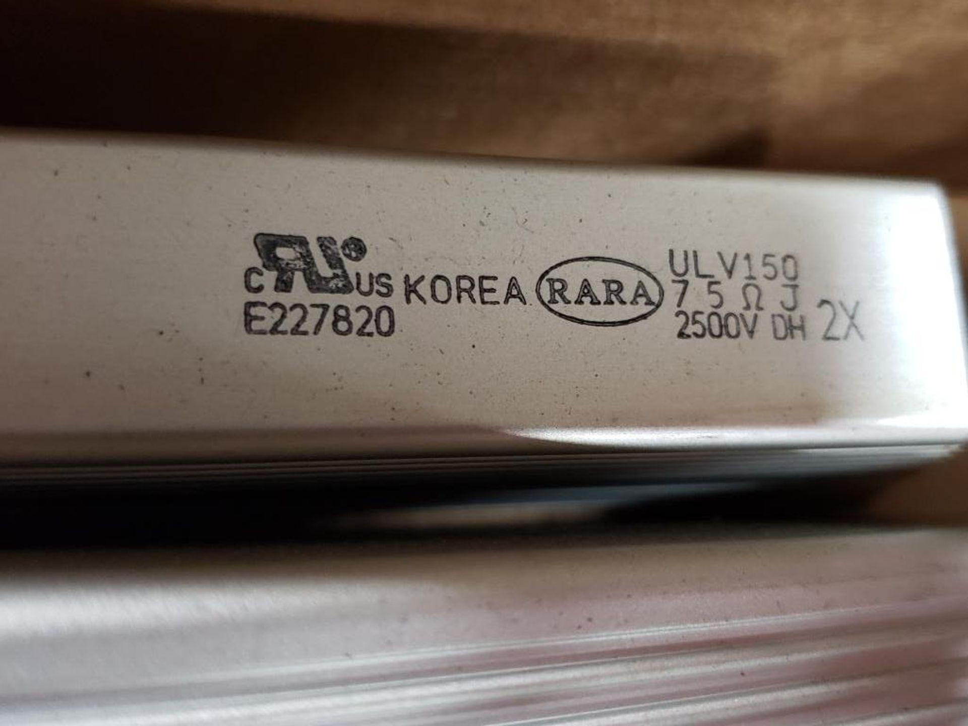 Qty 2 - Rara RXLG-H-T-500W resistor. E227820. - Image 2 of 3