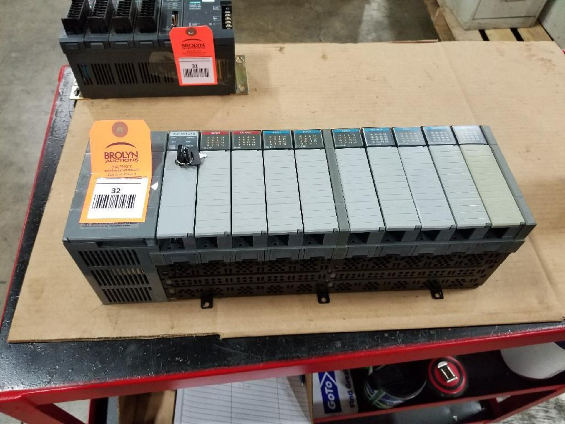 Allen Bradley SLC Rack. SLC 5/04 CPU. - Image 6 of 6