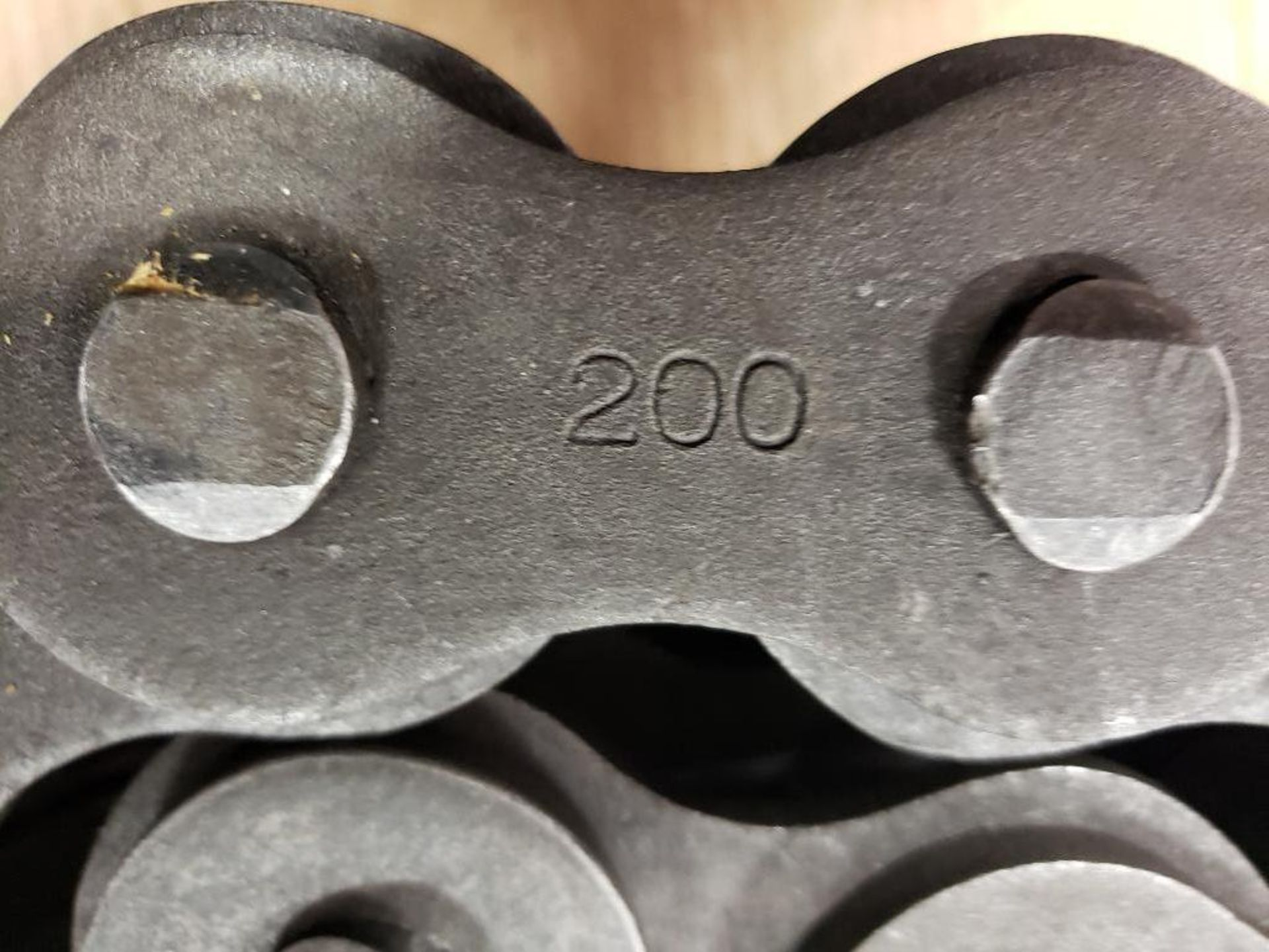10FT #200 Roller chain. - Image 2 of 5