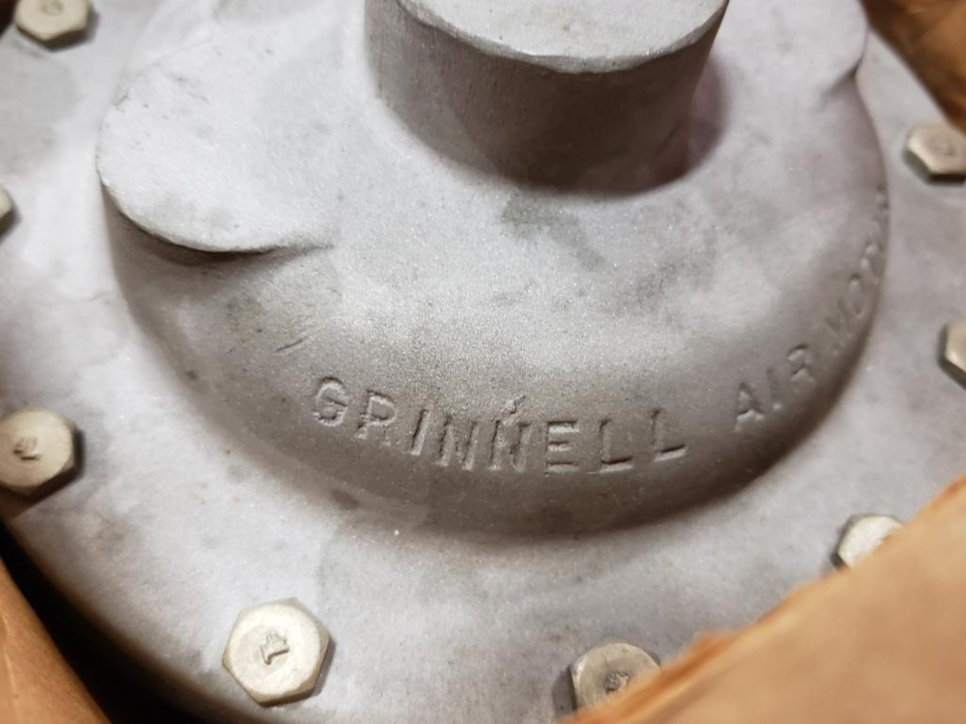 """Grinnell Air motor 32513. 3/4""""-Valve. - Image 8 of 8"""