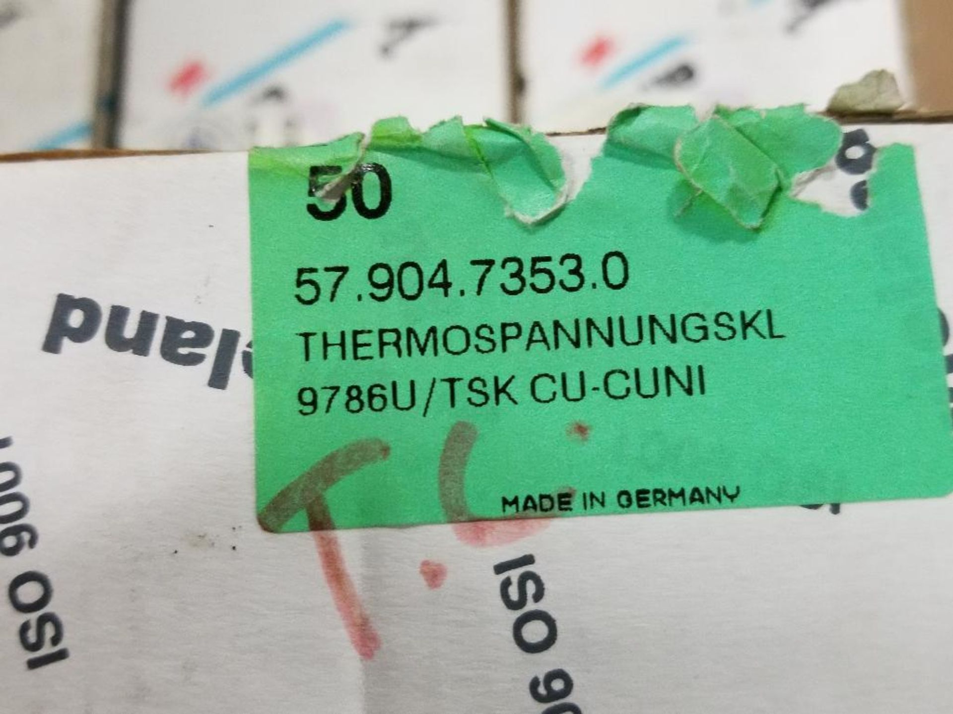 Assorted Entrelec fuse holder blocks. - Image 6 of 6