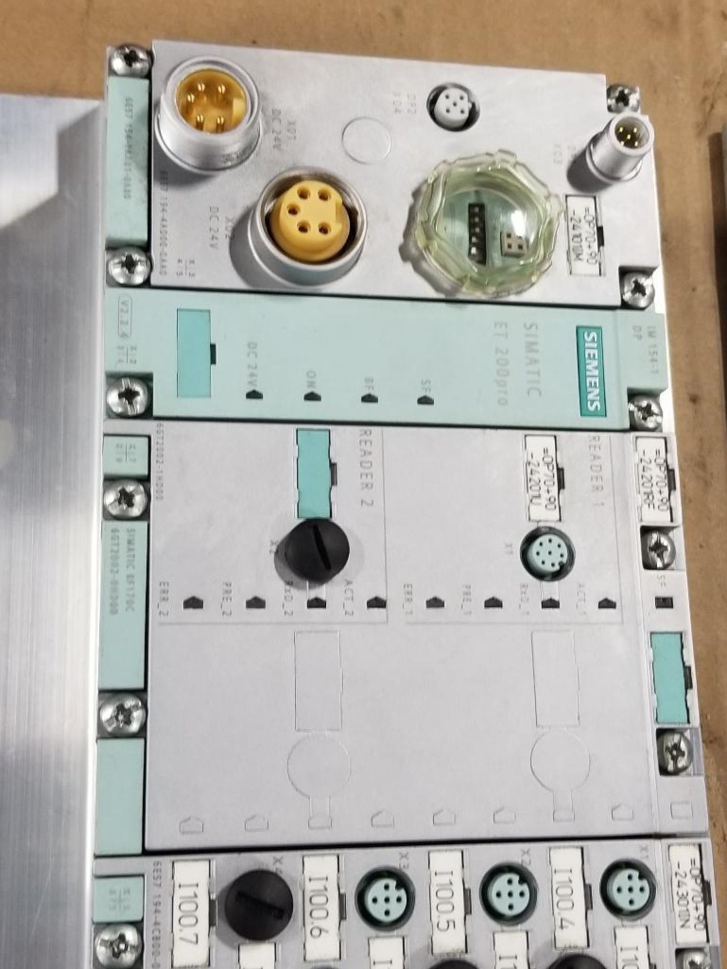 Siemens DSe-ST 3RK1304-5KS40-4AA0 disconnect module with flow control line. - Image 5 of 5