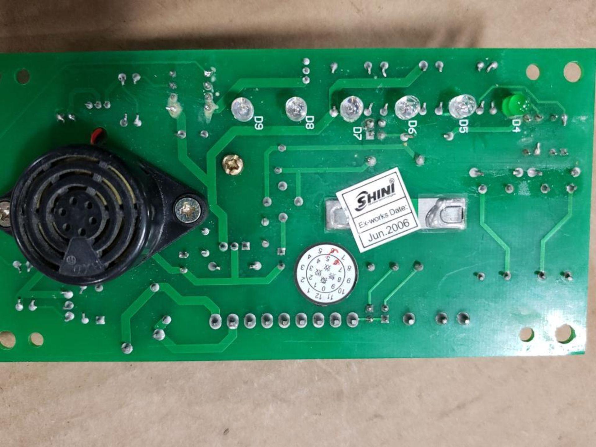 Qty 3 - Shini Si4T-1A control board. - Image 11 of 11