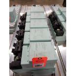 Siemens RSe-ST Reversing starter, DSe-ST Disconnect module flow control line.