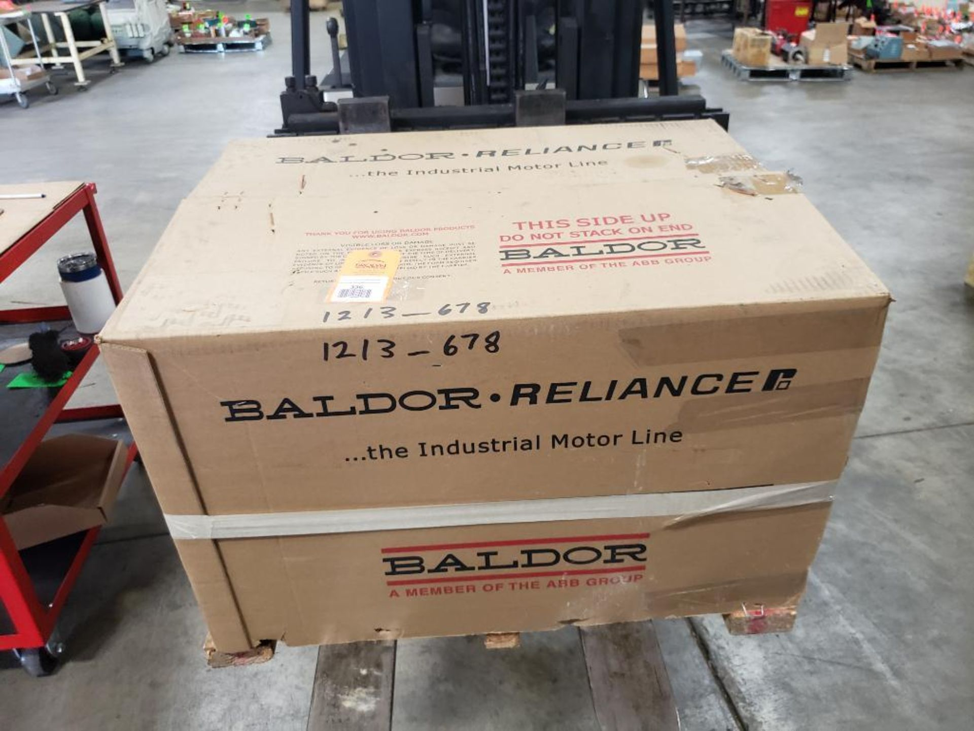 30HP Baldor Reliance 3PH motor. 2013000110. 575V, 3520RPM, 286TSC-Frame. - Image 3 of 12