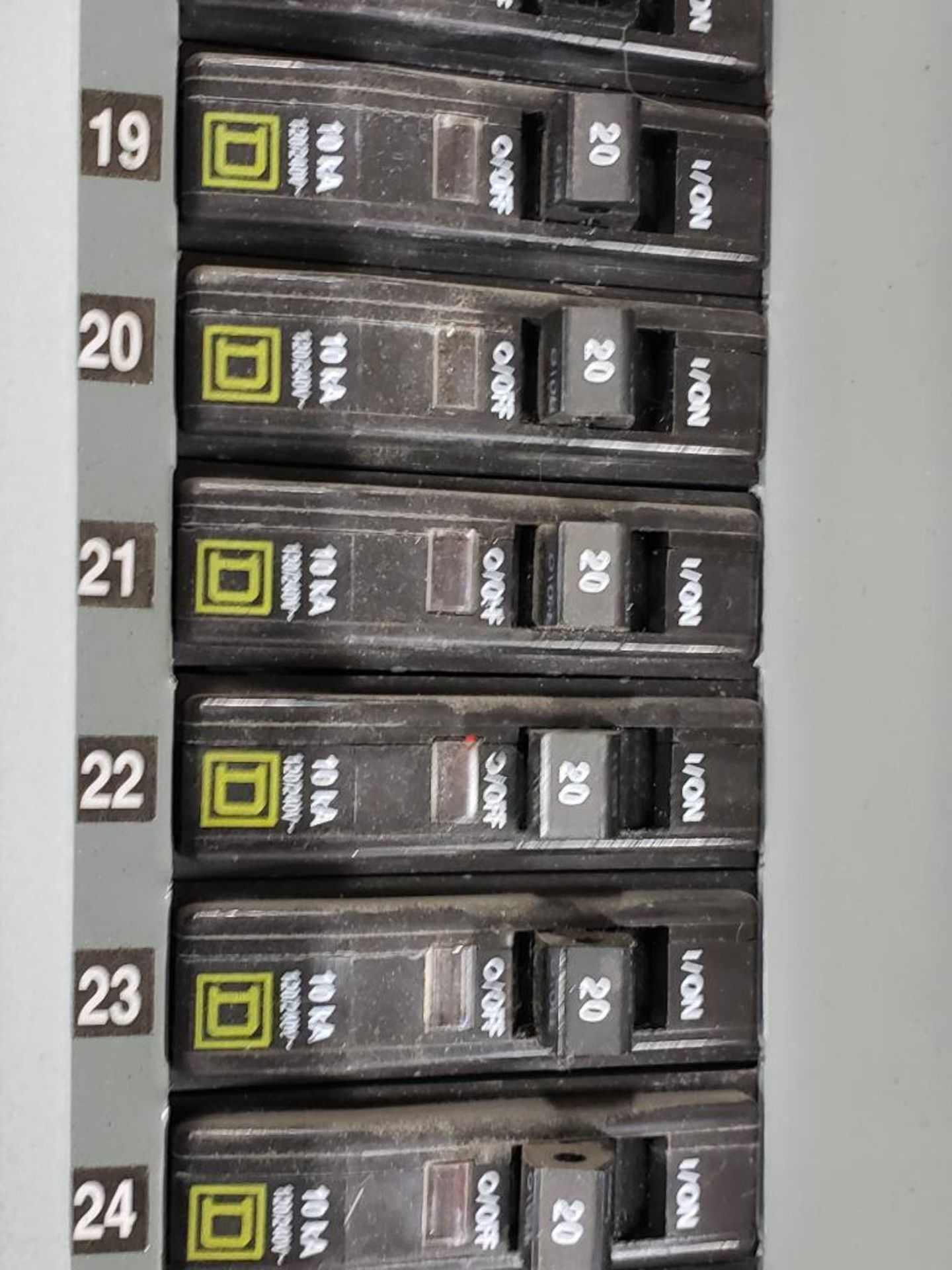 Square-D LX62TS Type-1 Enclosure. - Image 7 of 14