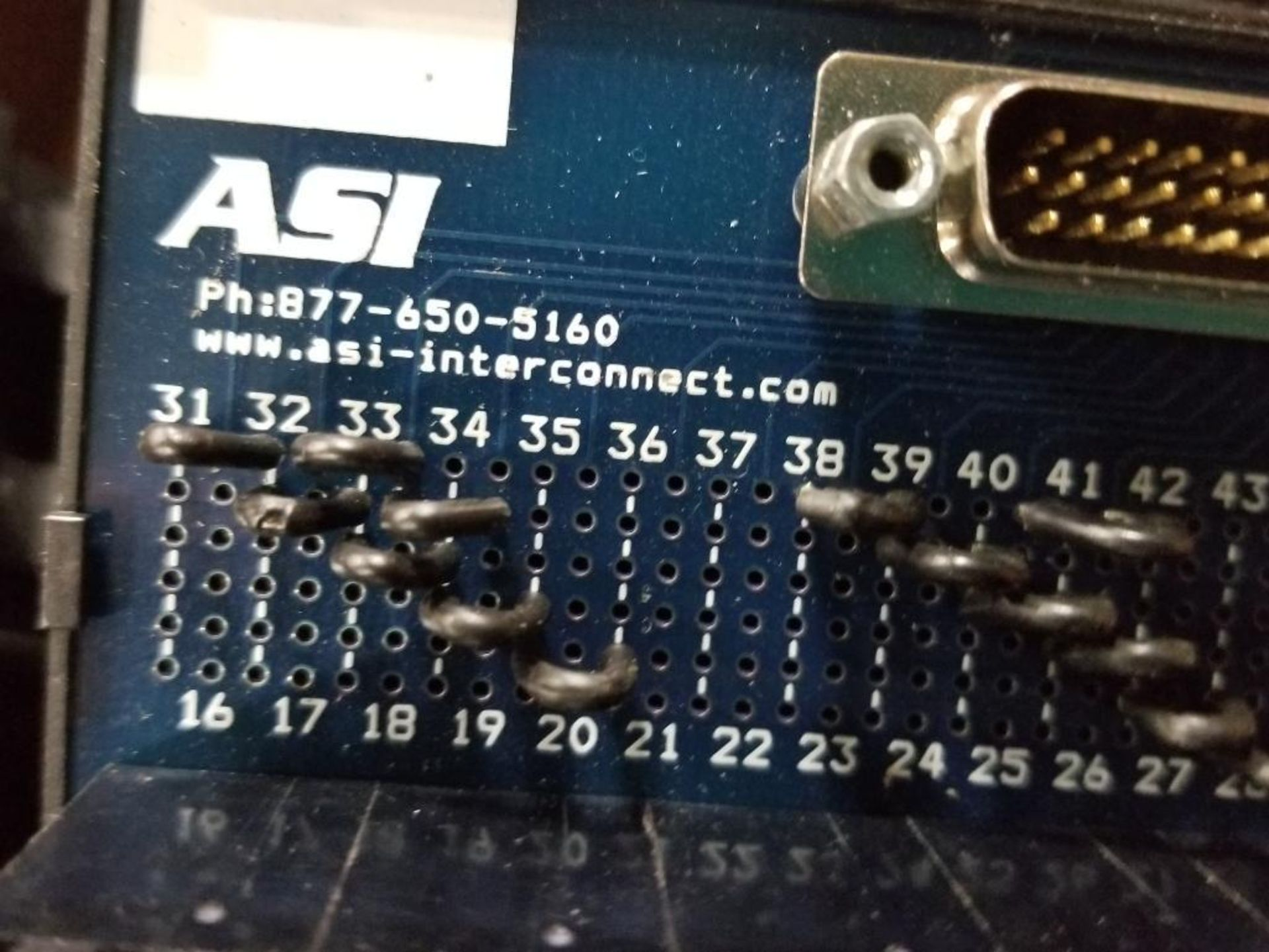 Assorted electrical connection boards. ASI. - Image 7 of 7