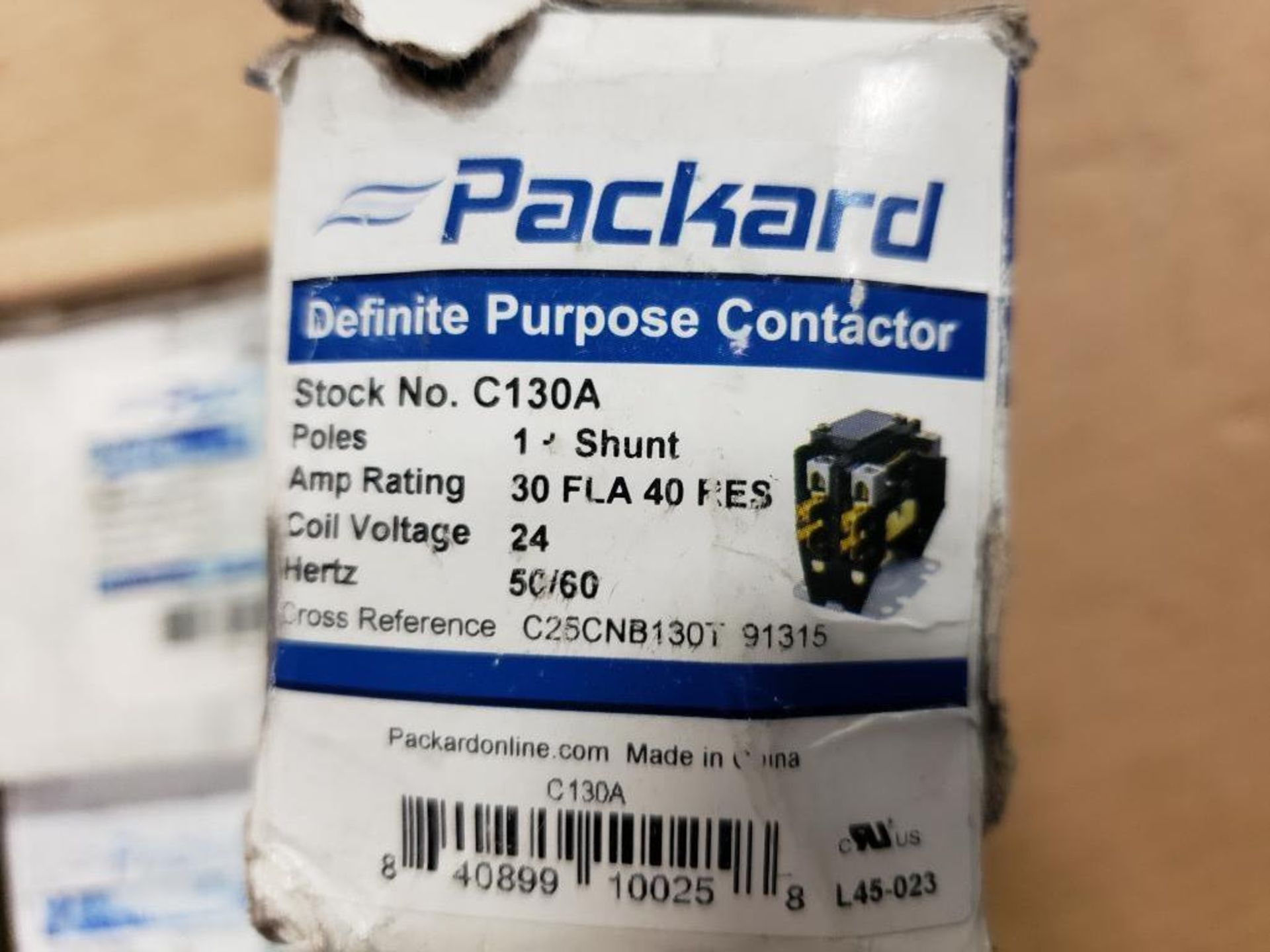 Assorted electrical capacitors. Packard, Mars. - Image 6 of 6