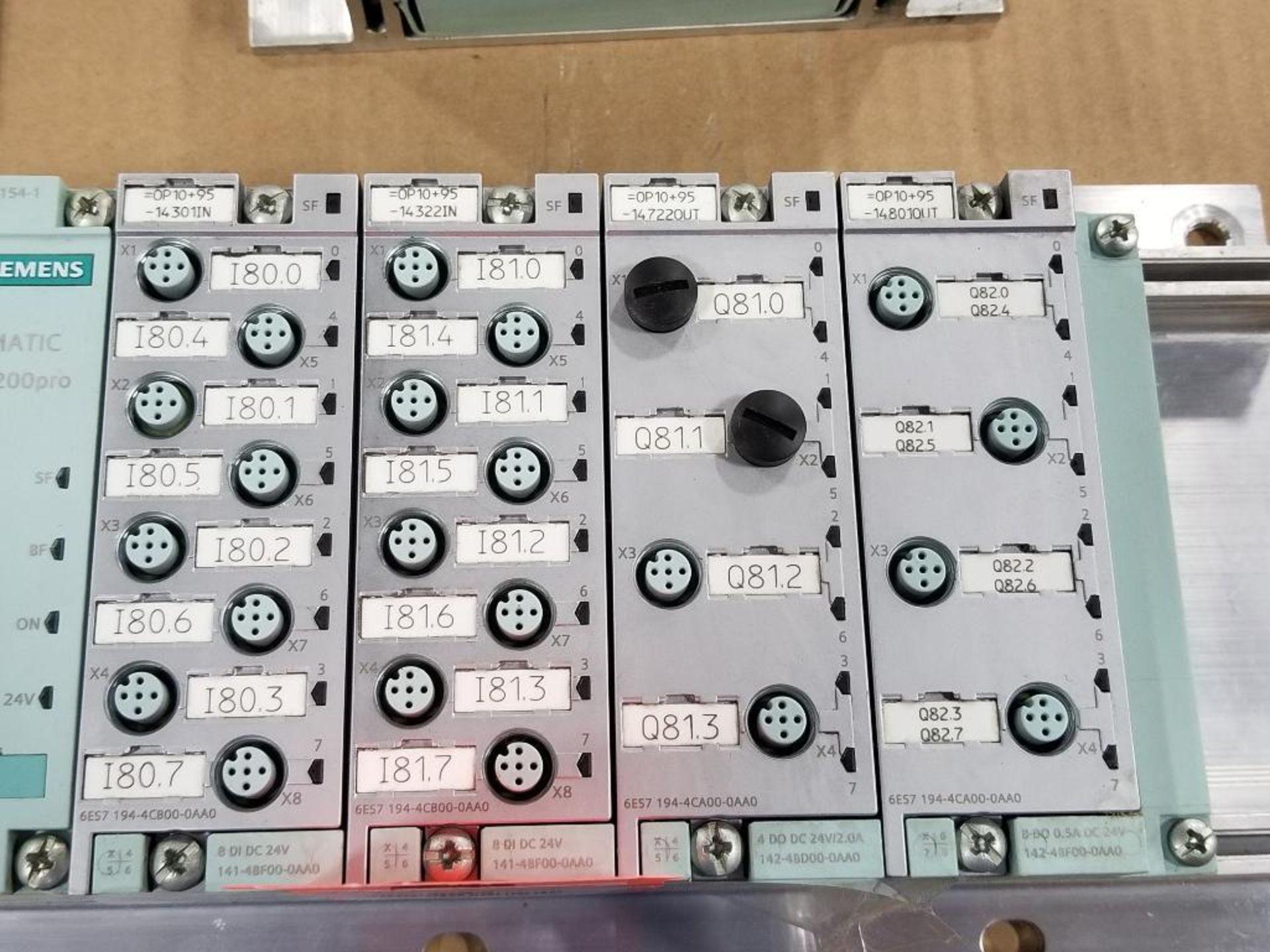Siemens ET200-pro flow control line. 6ES7-154-1AA01-0AB0. - Image 3 of 3