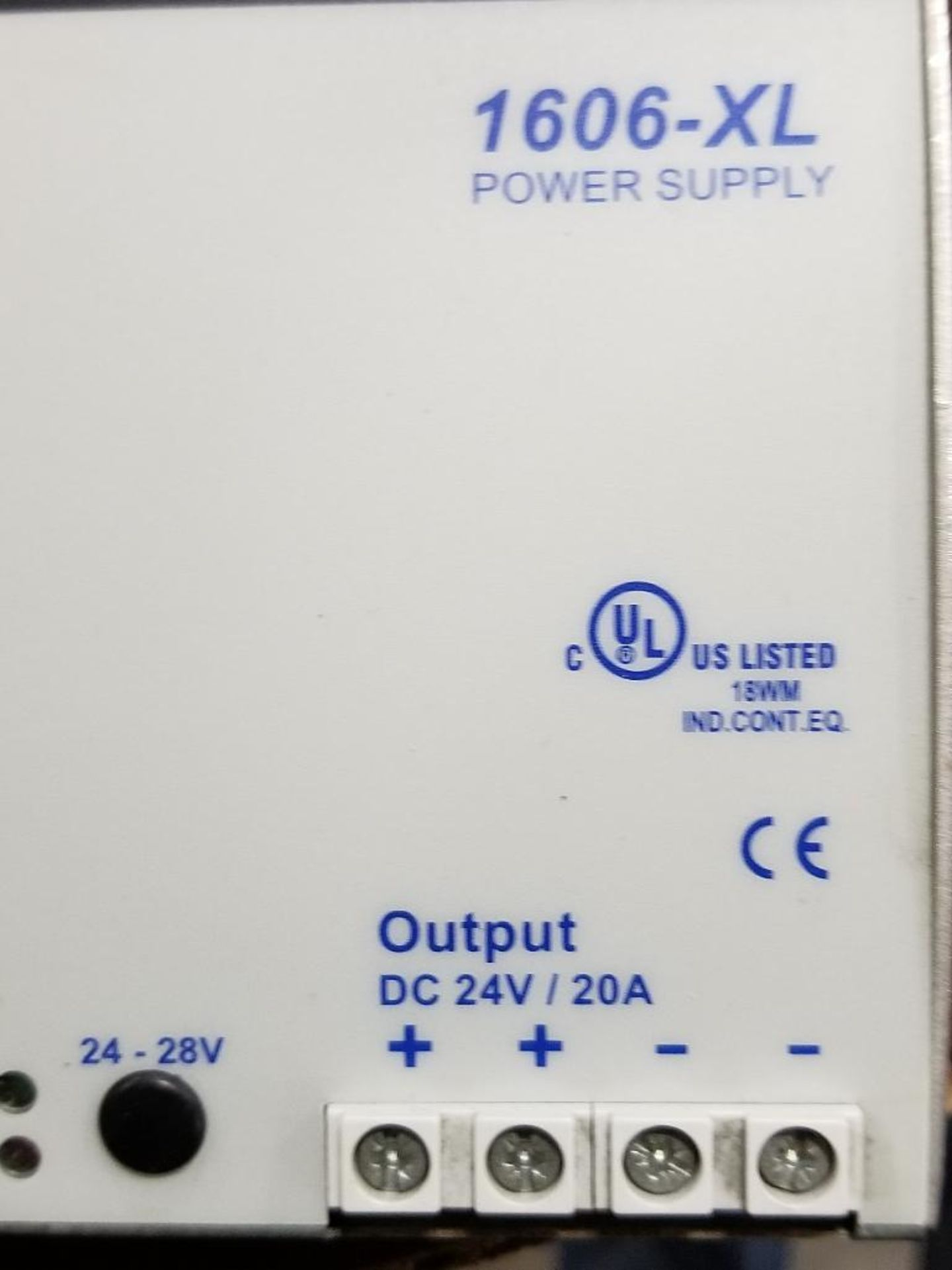 Allen Bradley 1606-XL power supply. 1606-XL480E. - Image 2 of 4