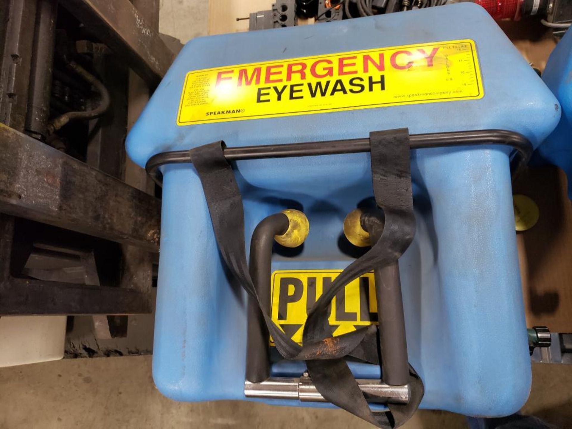 Pallet of assorted parts. Emergency eyewash, Conair universal terminal box, Hydraulik Ring valve. - Image 14 of 14