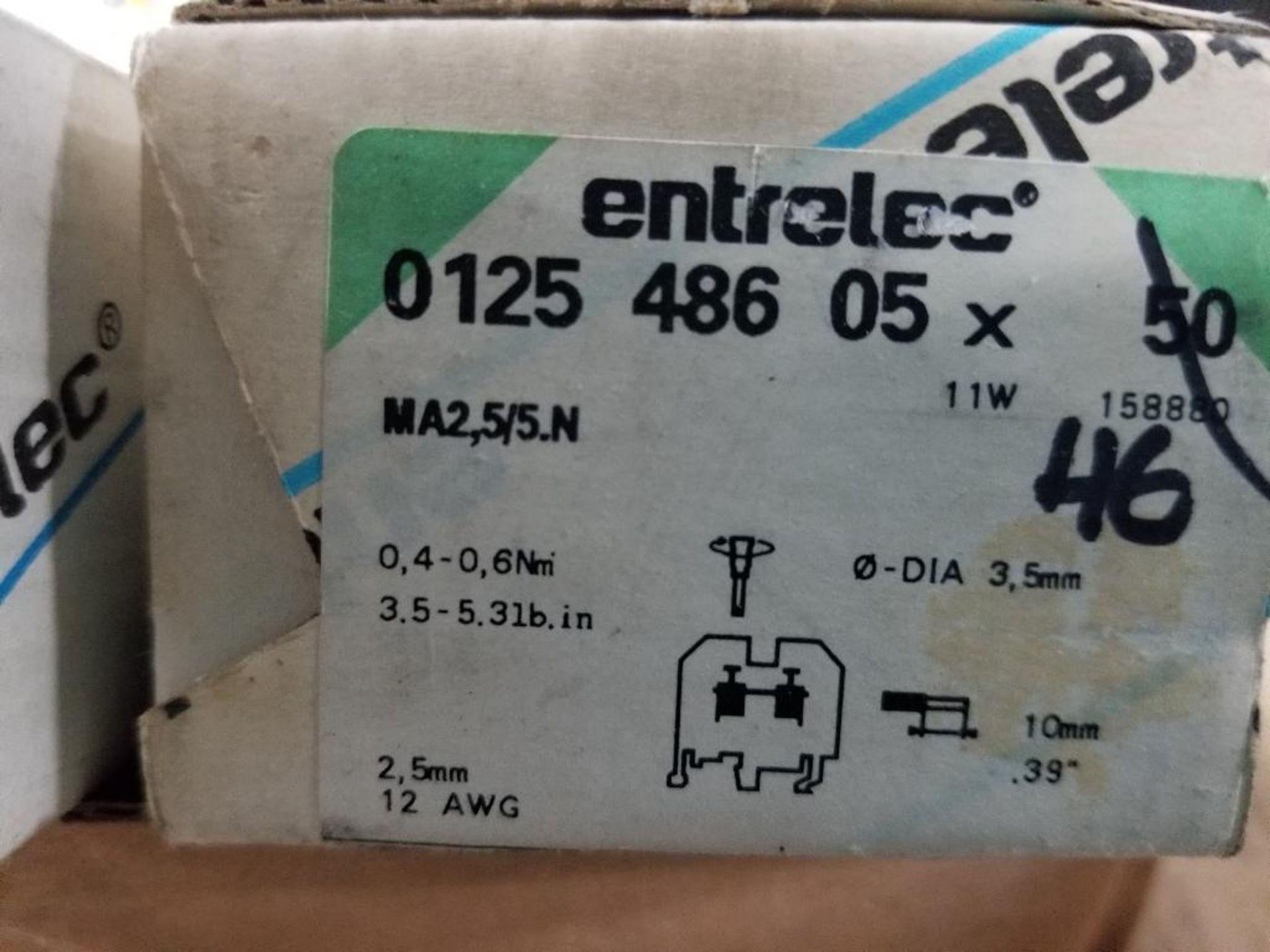 Assorted Entrelec fuse holder blocks. - Image 2 of 10